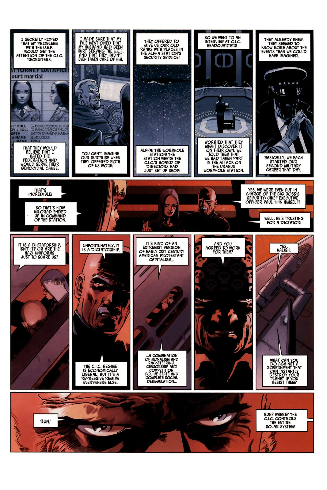 Read online Universal War One: Revelations comic -  Issue #2 - 43