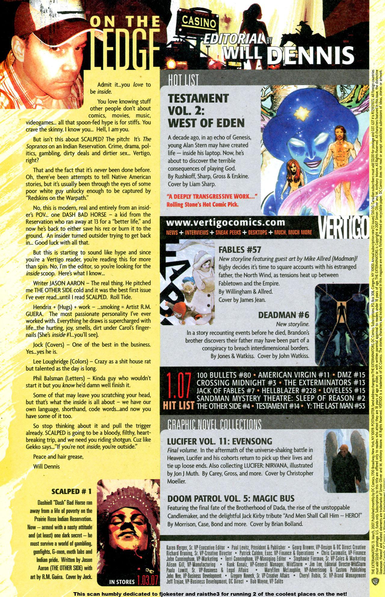 Read online The Exterminators comic -  Issue #13 - 23