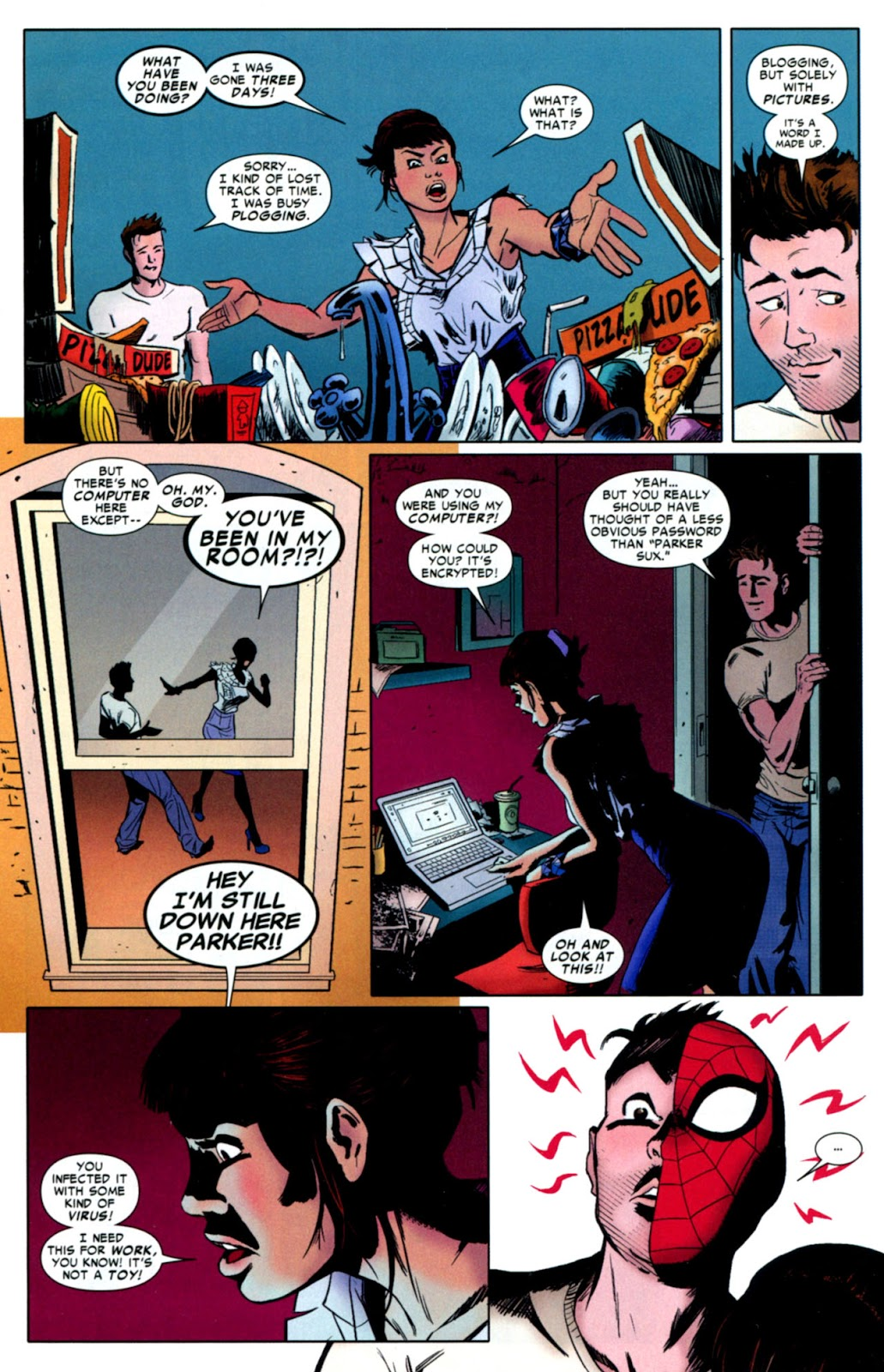 Web of Spider-Man (2009) Issue #8 #8 - English 22