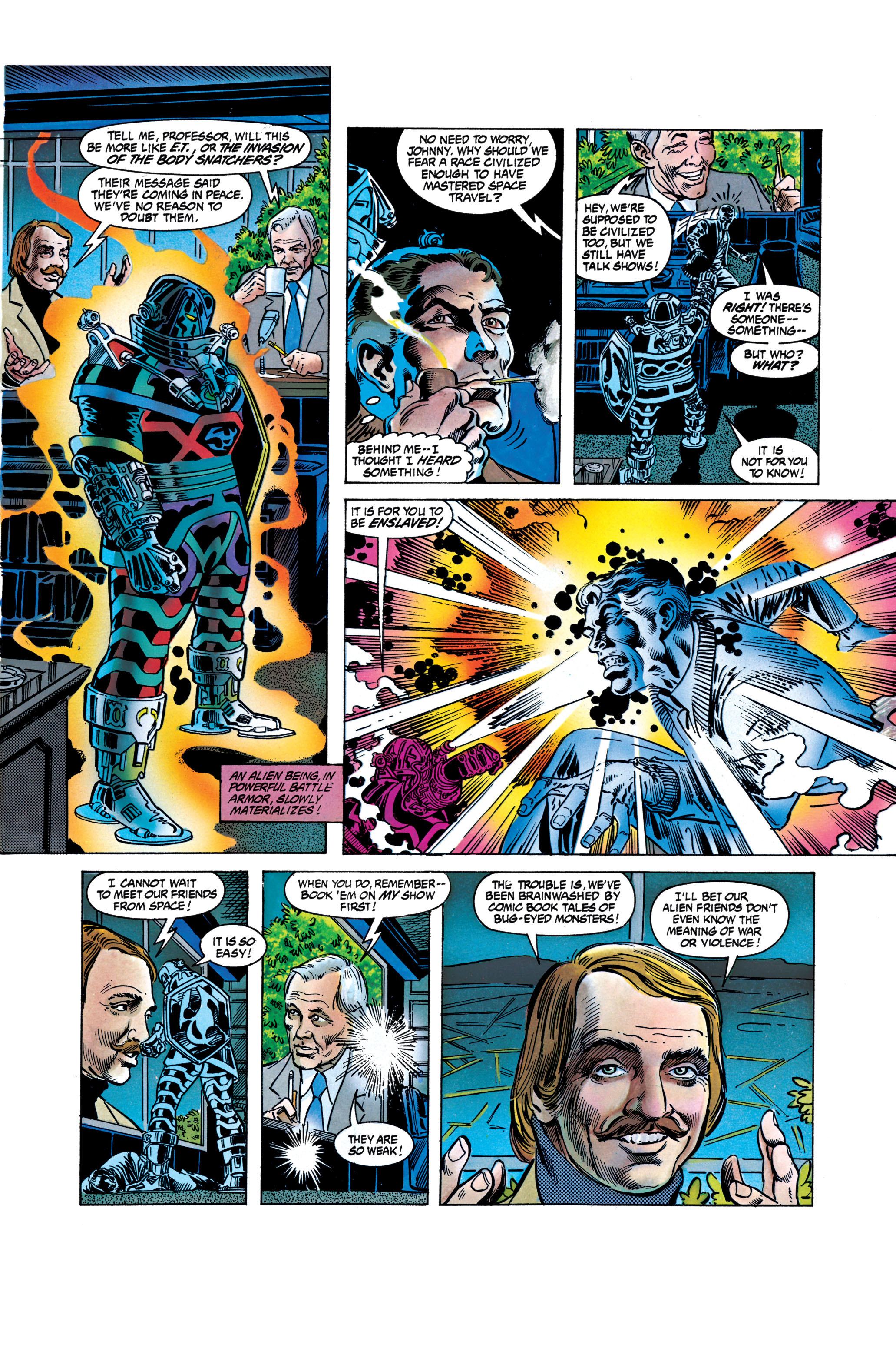 Read online Silver Surfer: Parable comic -  Issue # TPB - 76