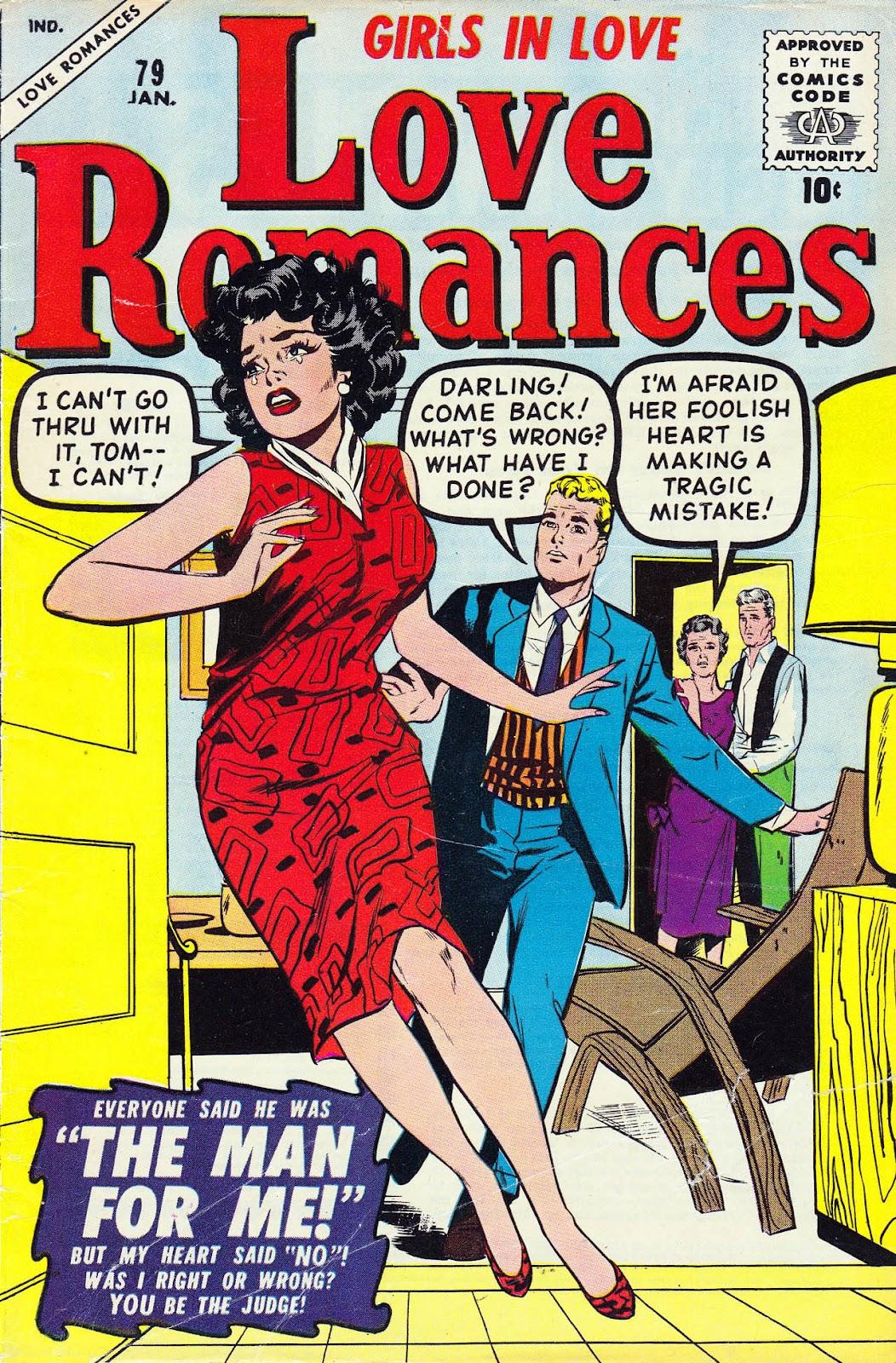 Love Romances (1949) issue 79 - Page 1