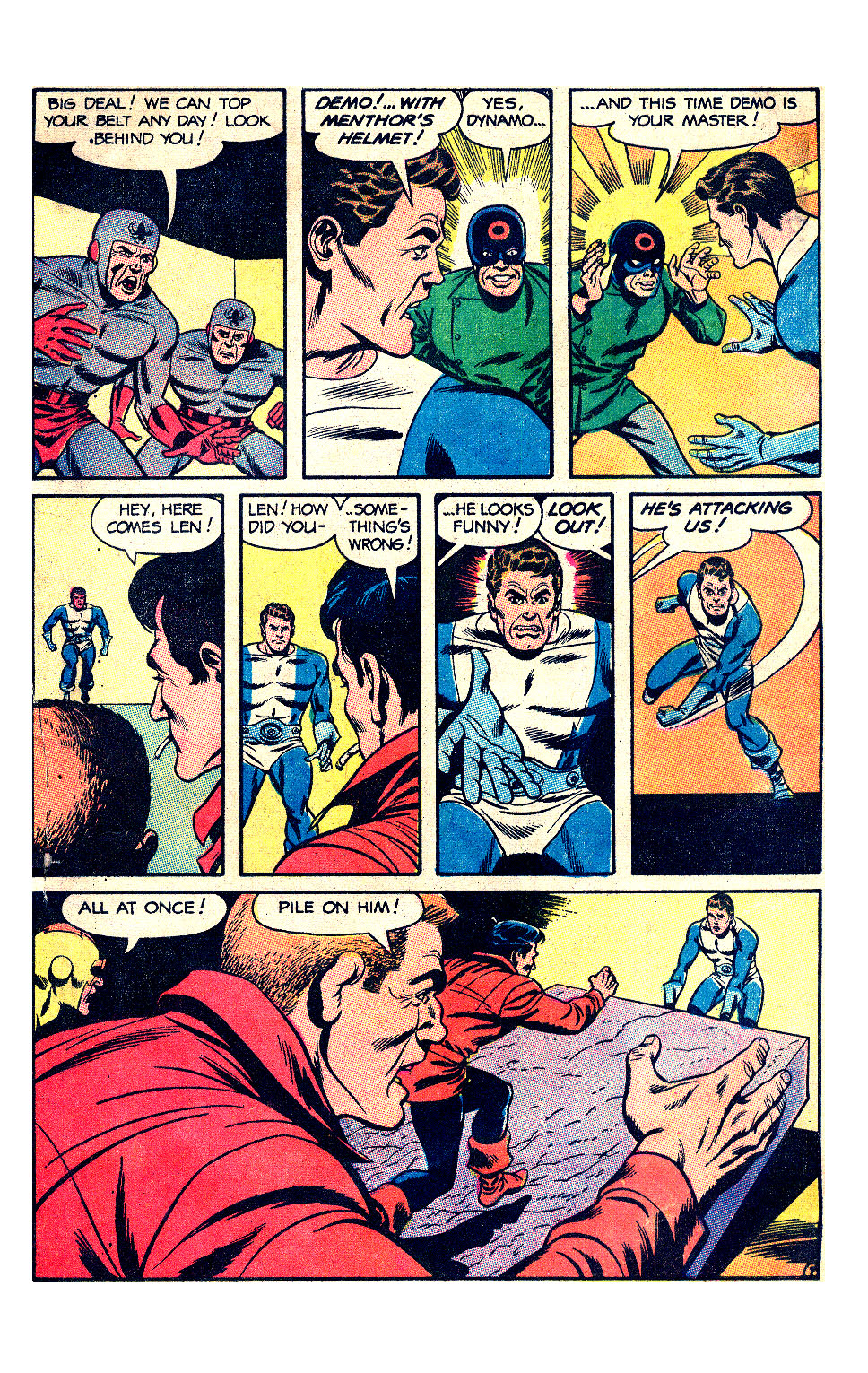 T.H.U.N.D.E.R. Agents (1965) issue 17 - Page 42