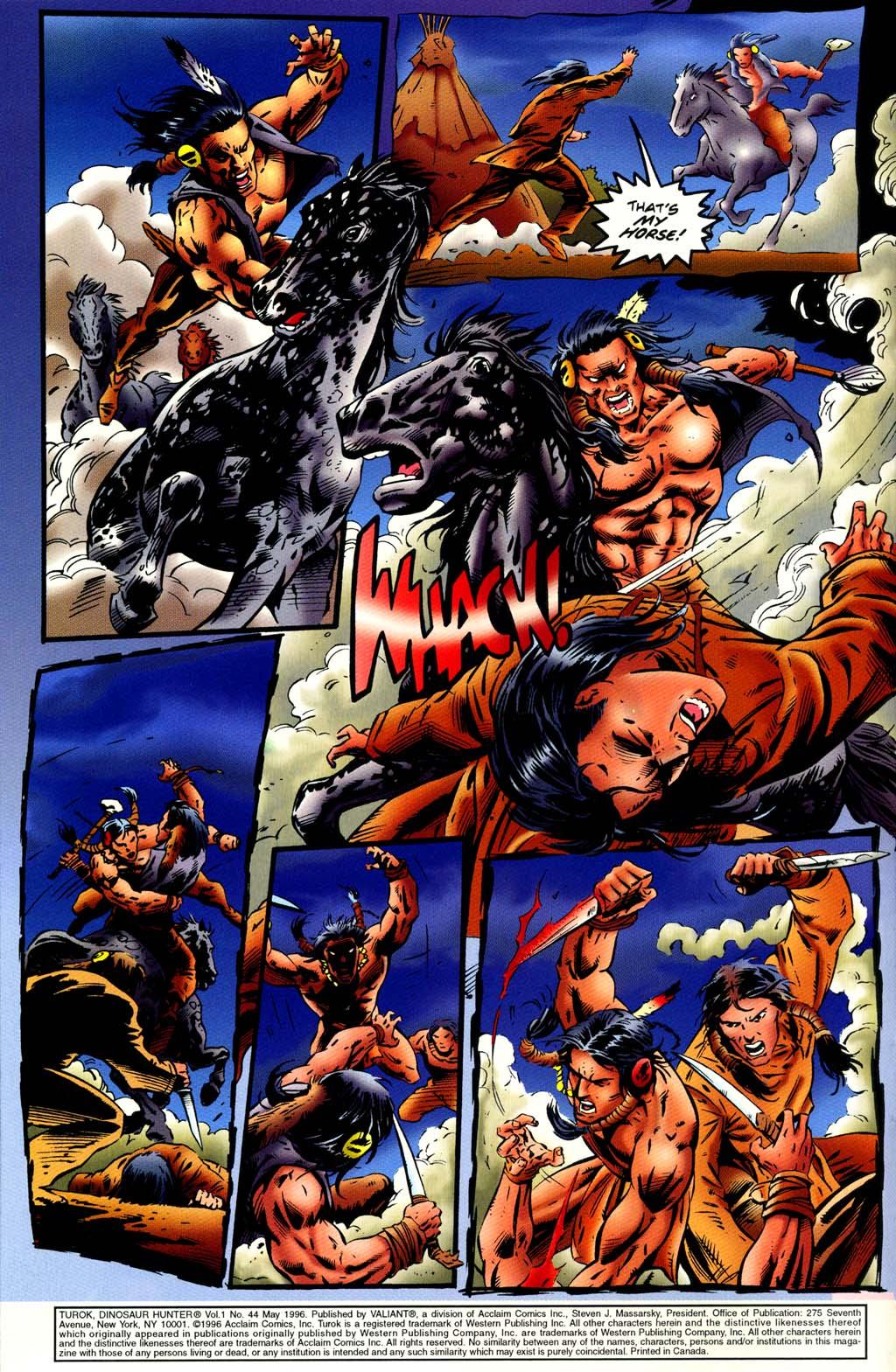 Read online Turok, Dinosaur Hunter (1993) comic -  Issue #44 - 4