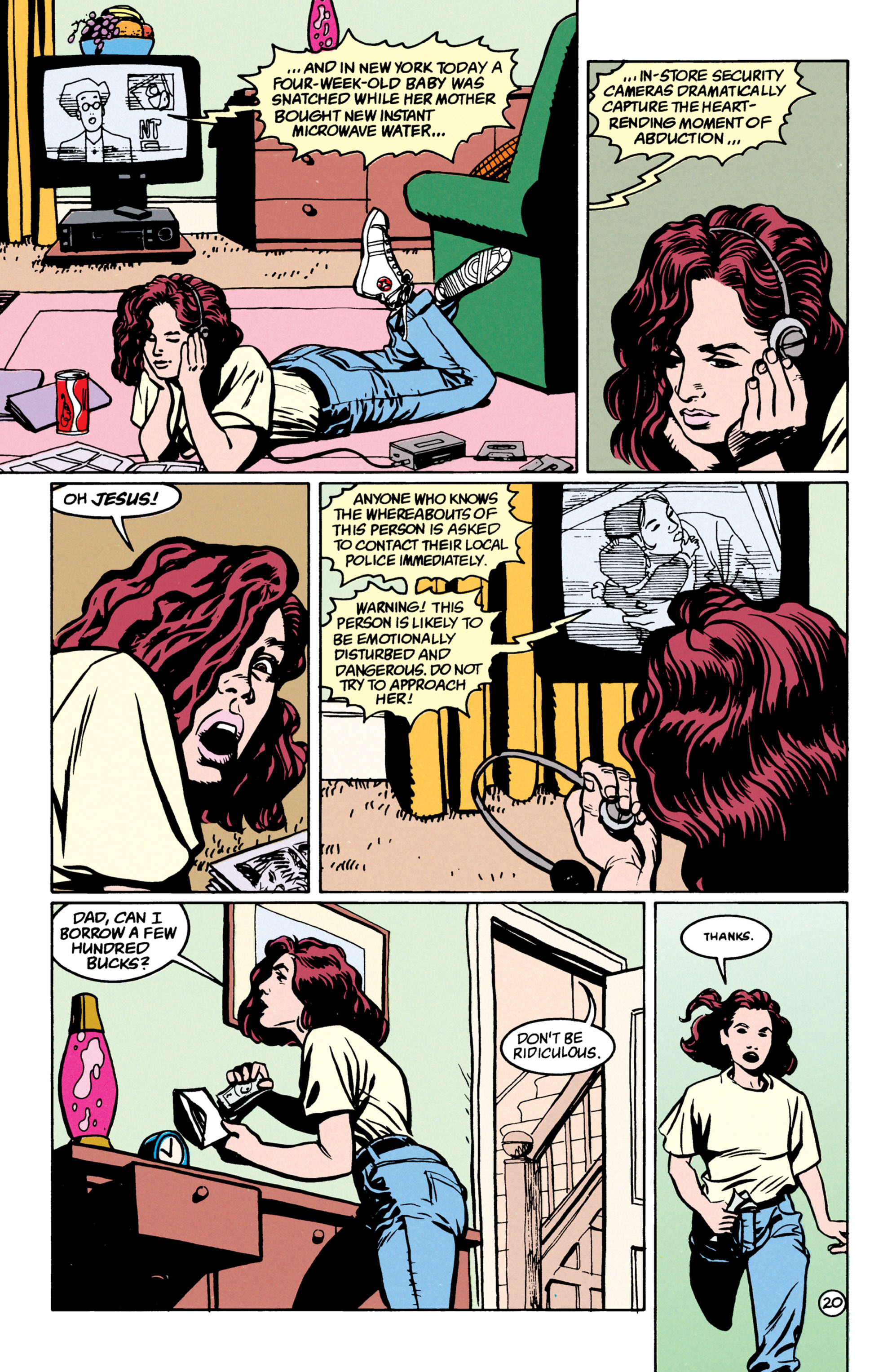 Read online Shade, the Changing Man comic -  Issue #52 - 21