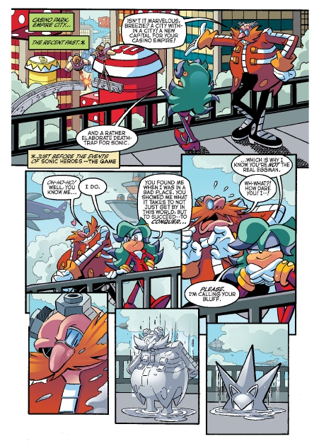 Read online Sonic Comics Spectacular: Speed of Sound comic -  Issue # Full - 38