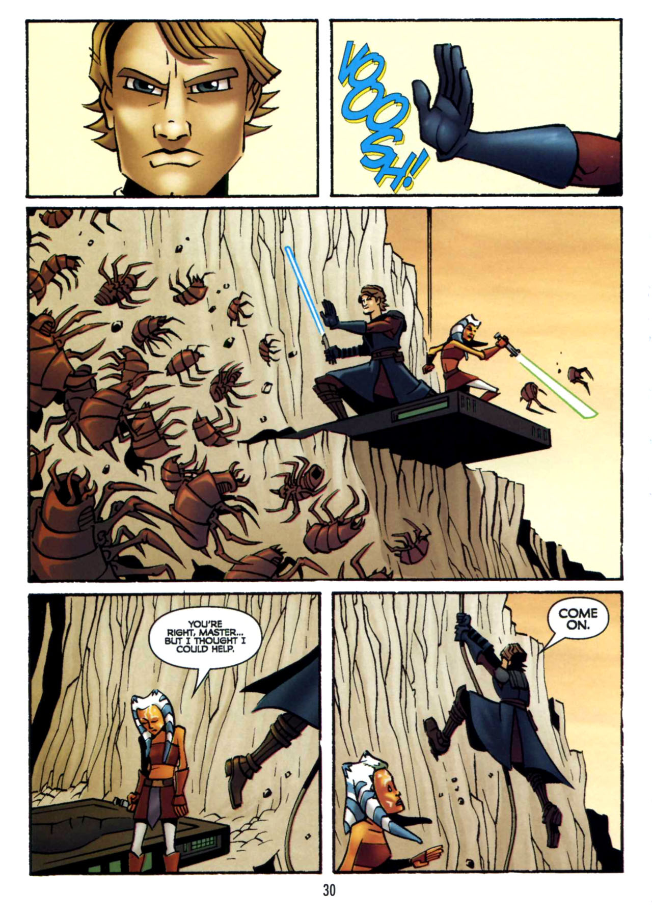 Read online Star Wars: The Clone Wars - Shipyards of Doom comic -  Issue # Full - 29