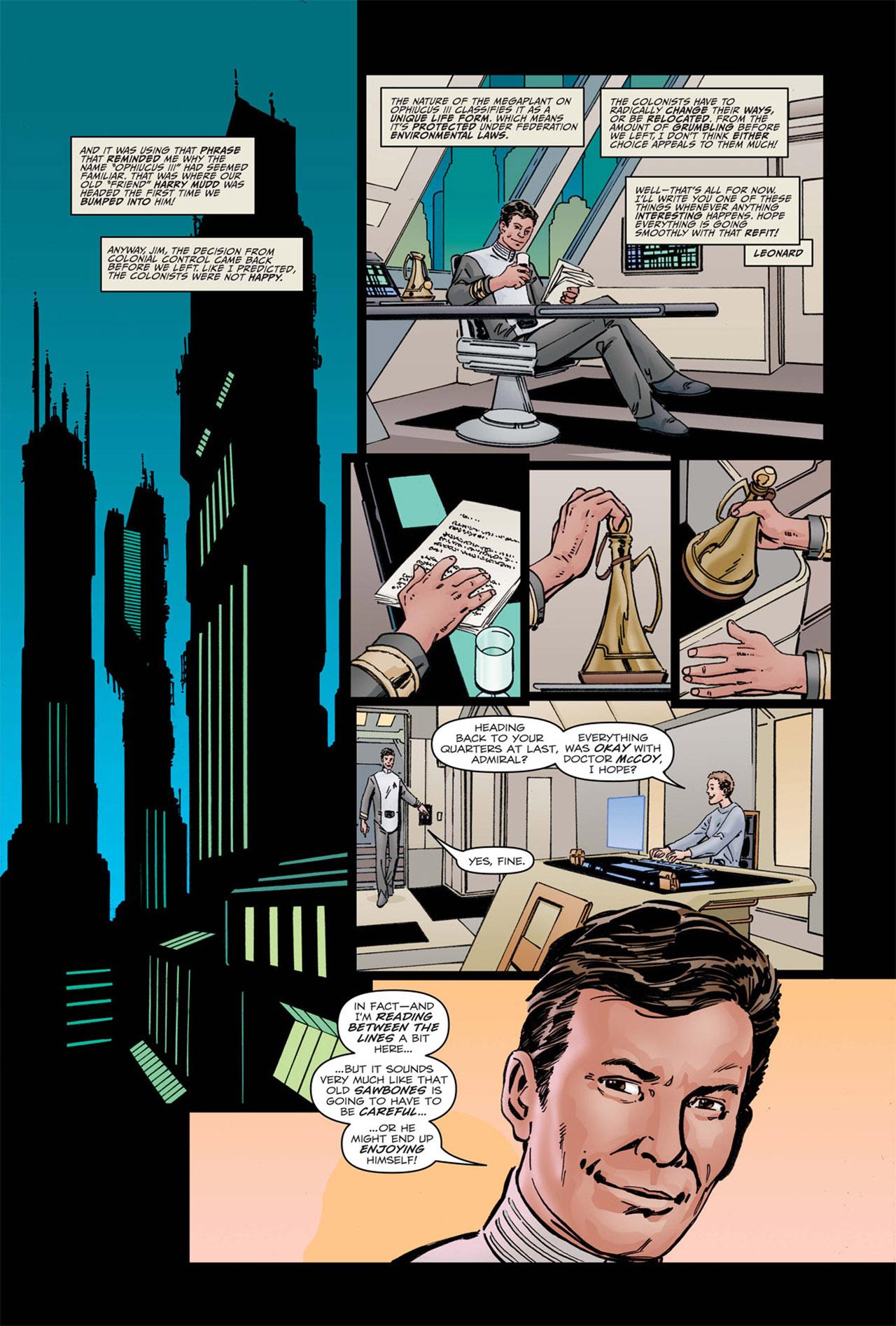 Read online Star Trek: Leonard McCoy, Frontier Doctor comic -  Issue #1 - 25