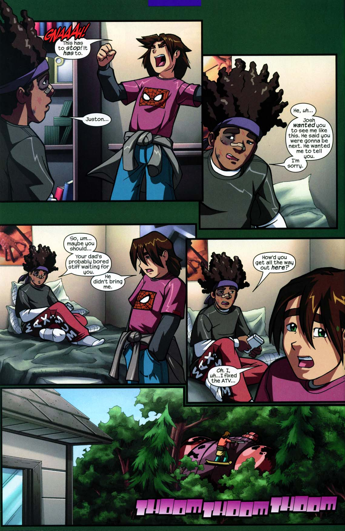 Read online Sentinel comic -  Issue #5 - 6