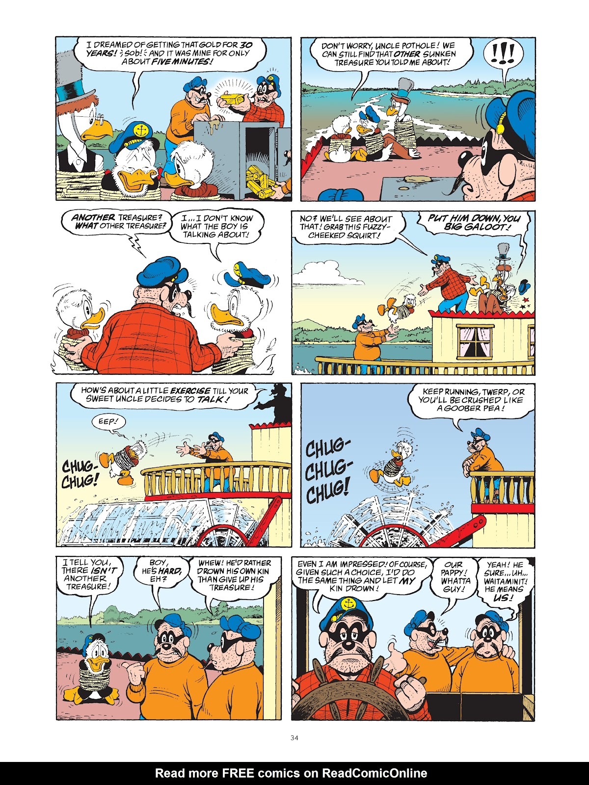 Read online The Complete Life and Times of Scrooge McDuck comic -  Issue # TPB 1 (Part 1) - 41