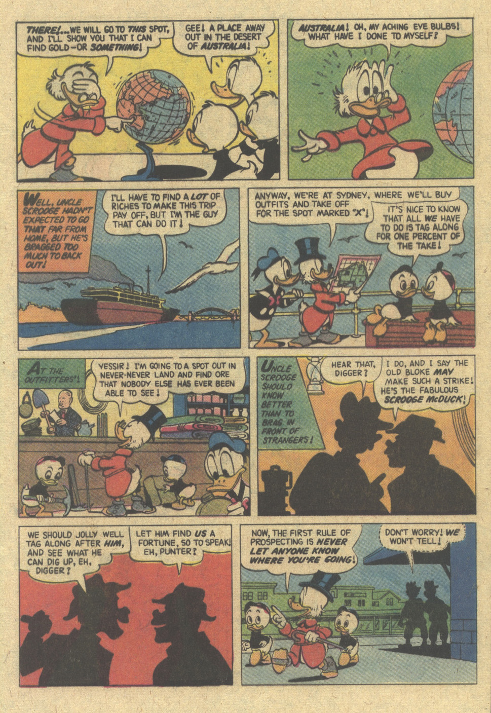 Read online Uncle Scrooge (1953) comic -  Issue #148 - 5