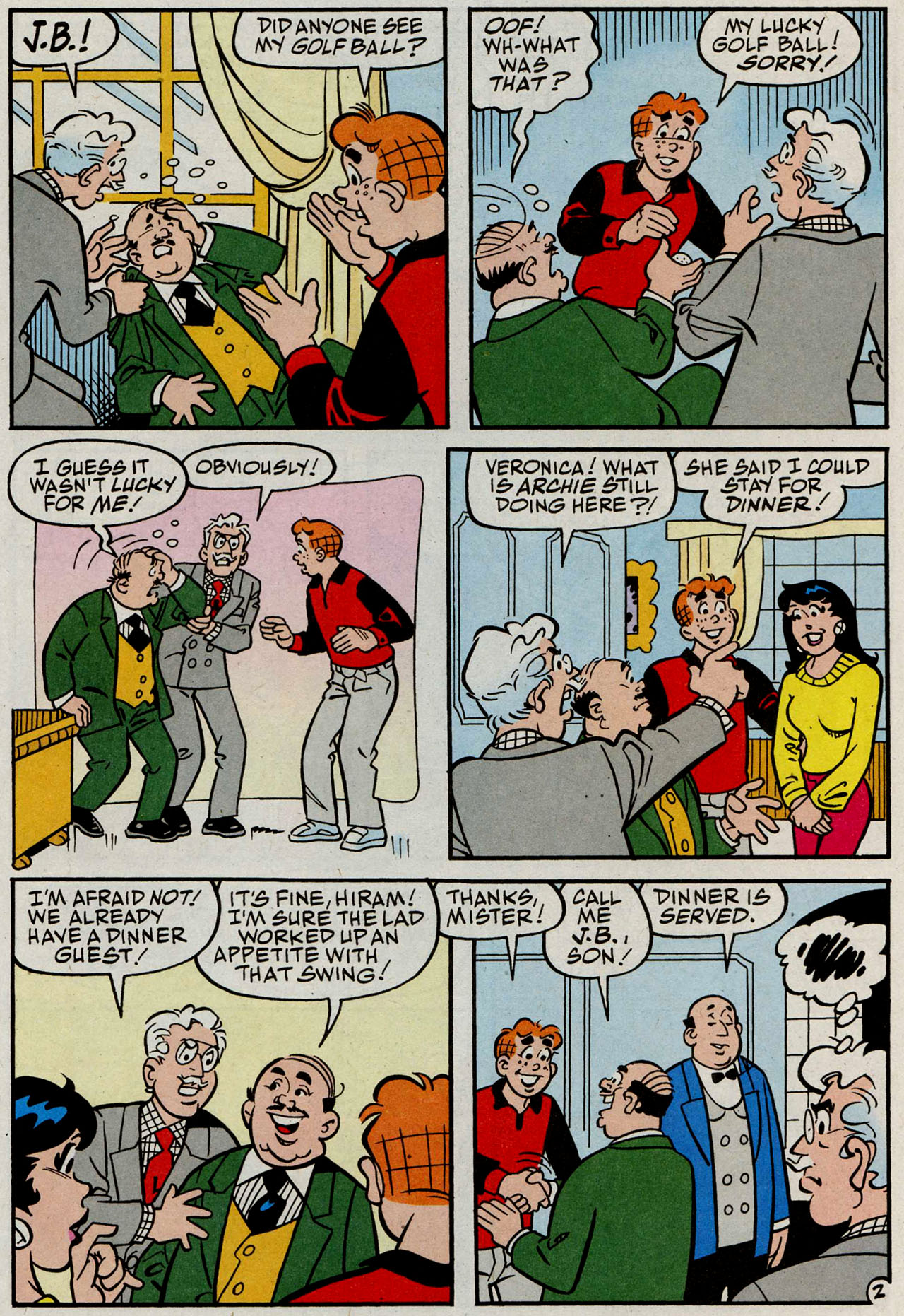 Read online Archie (1960) comic -  Issue #585 - 14