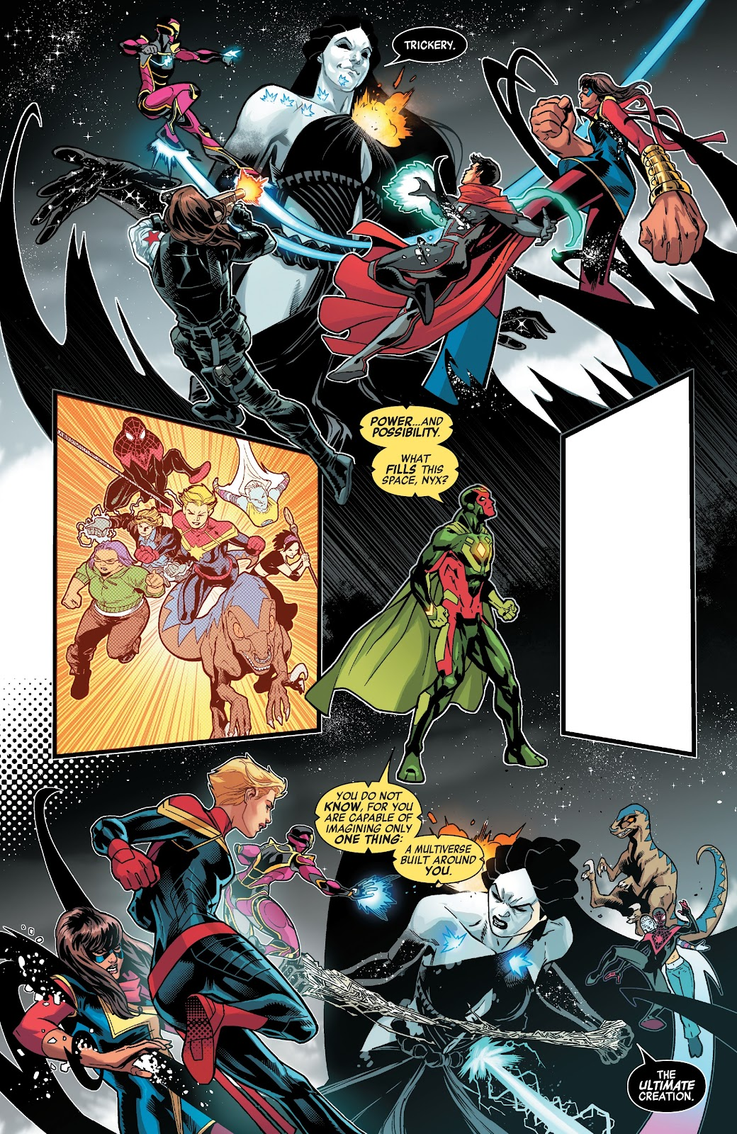 Read online Avengers No Road Home comic -  Issue #10 - 10