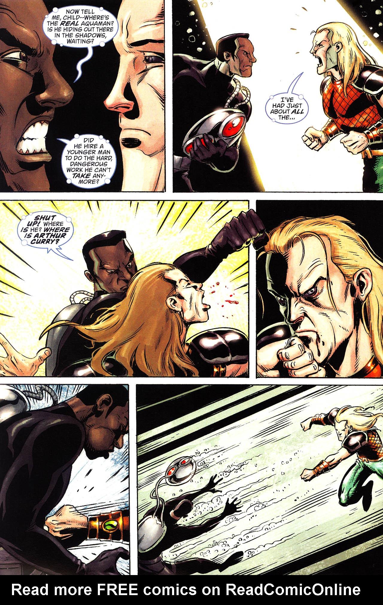 Read online Aquaman: Sword of Atlantis comic -  Issue #52 - 7