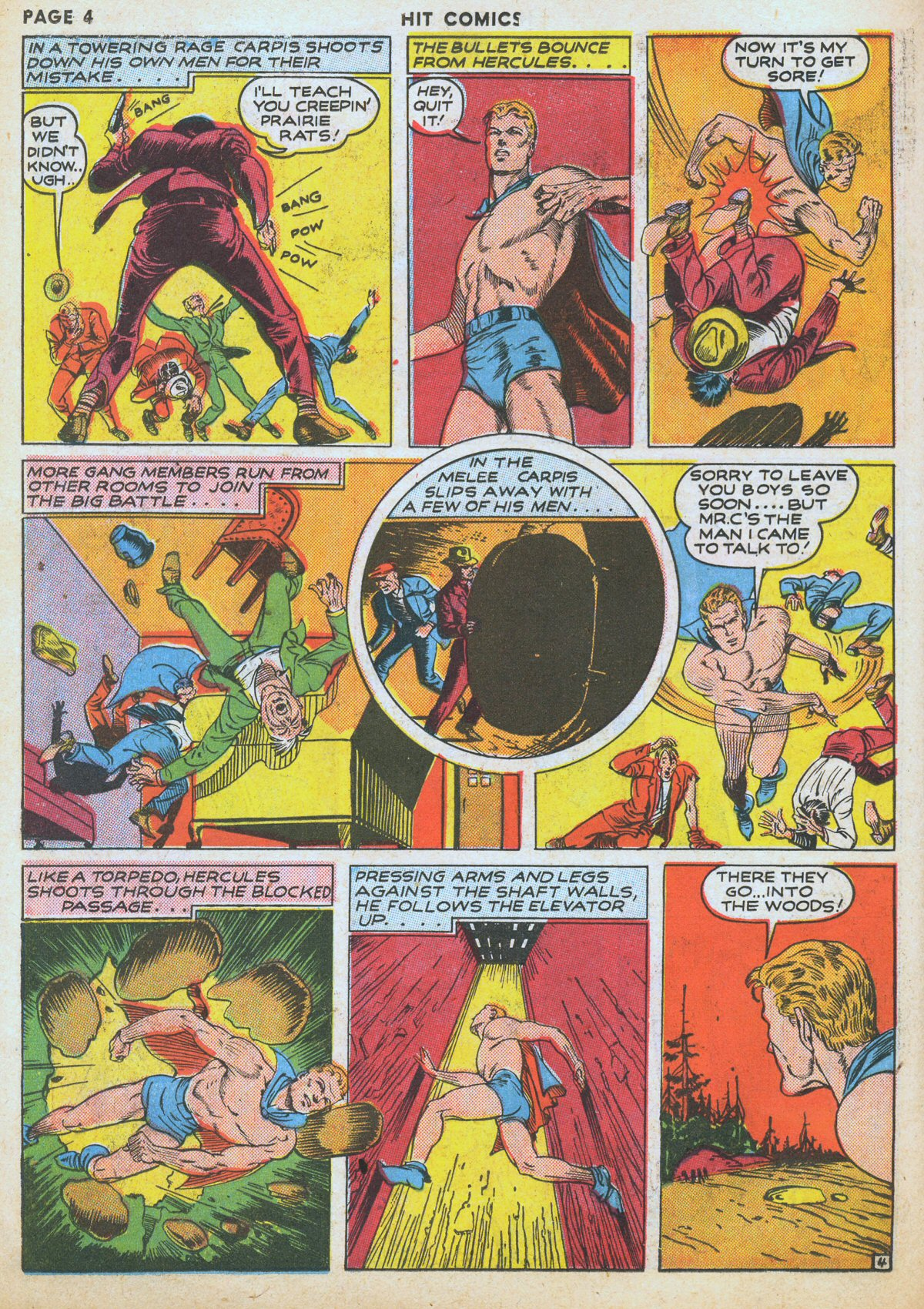 Read online Hit Comics comic -  Issue #12 - 6