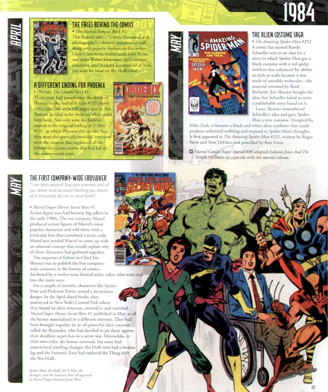 Read online Marvel Chronicle comic -  Issue # TPB (Part 3) - 15