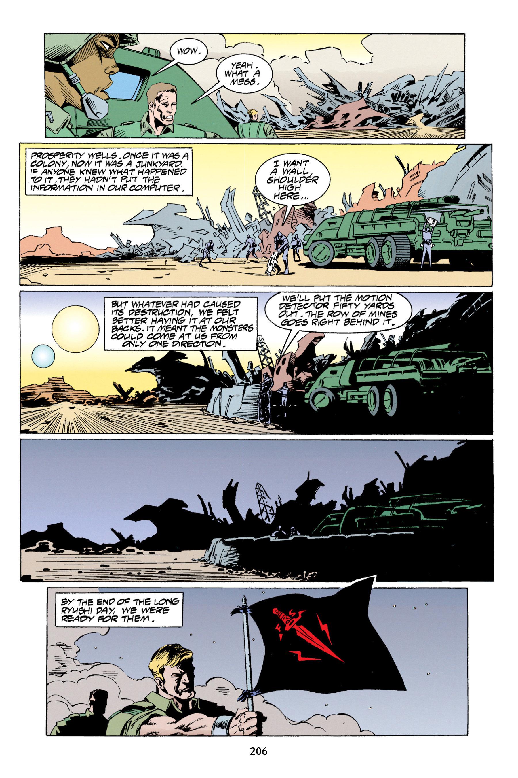 Read online Aliens vs. Predator Omnibus comic -  Issue # _TPB 1 Part 3 - 2