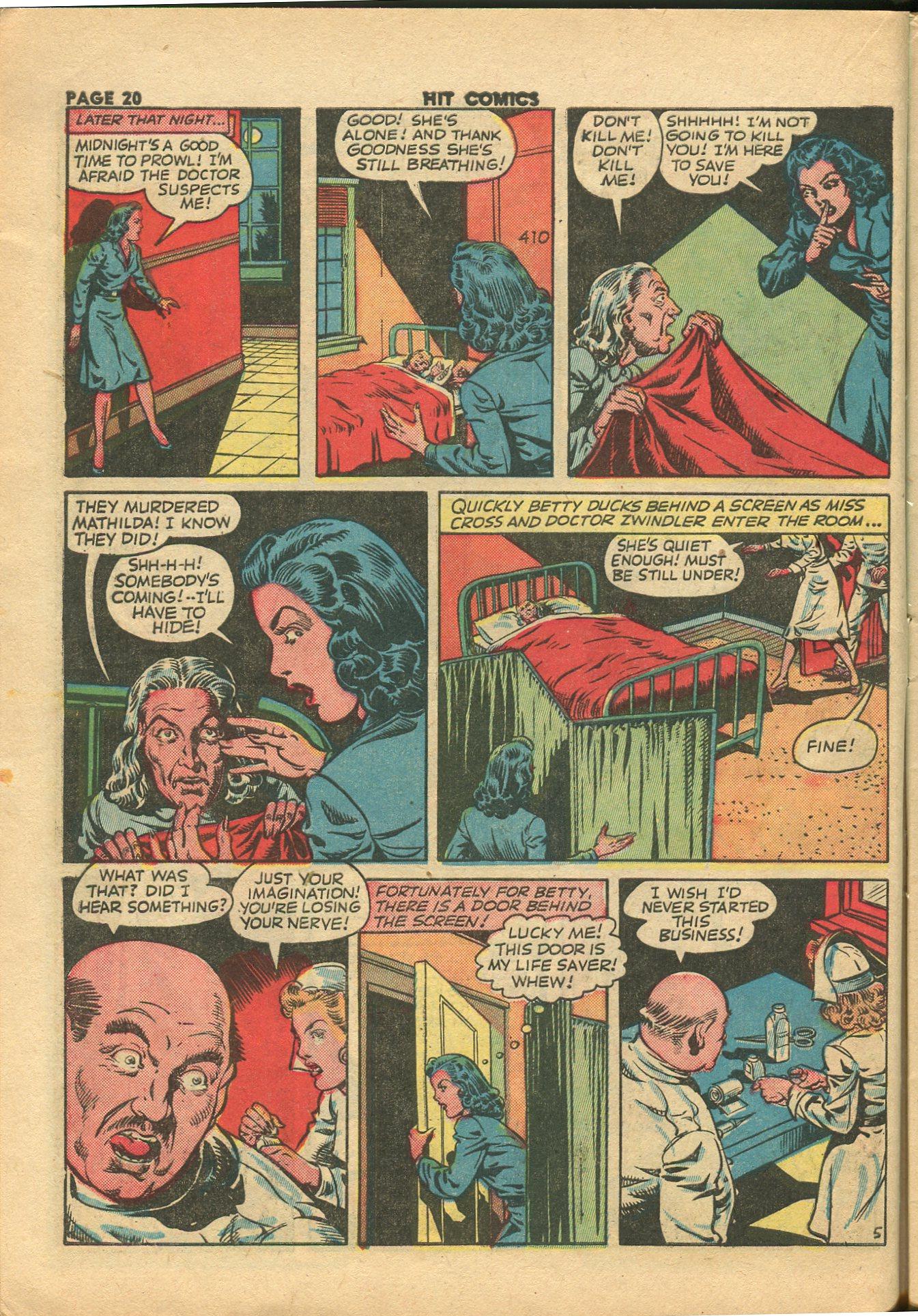 Read online Hit Comics comic -  Issue #28 - 23