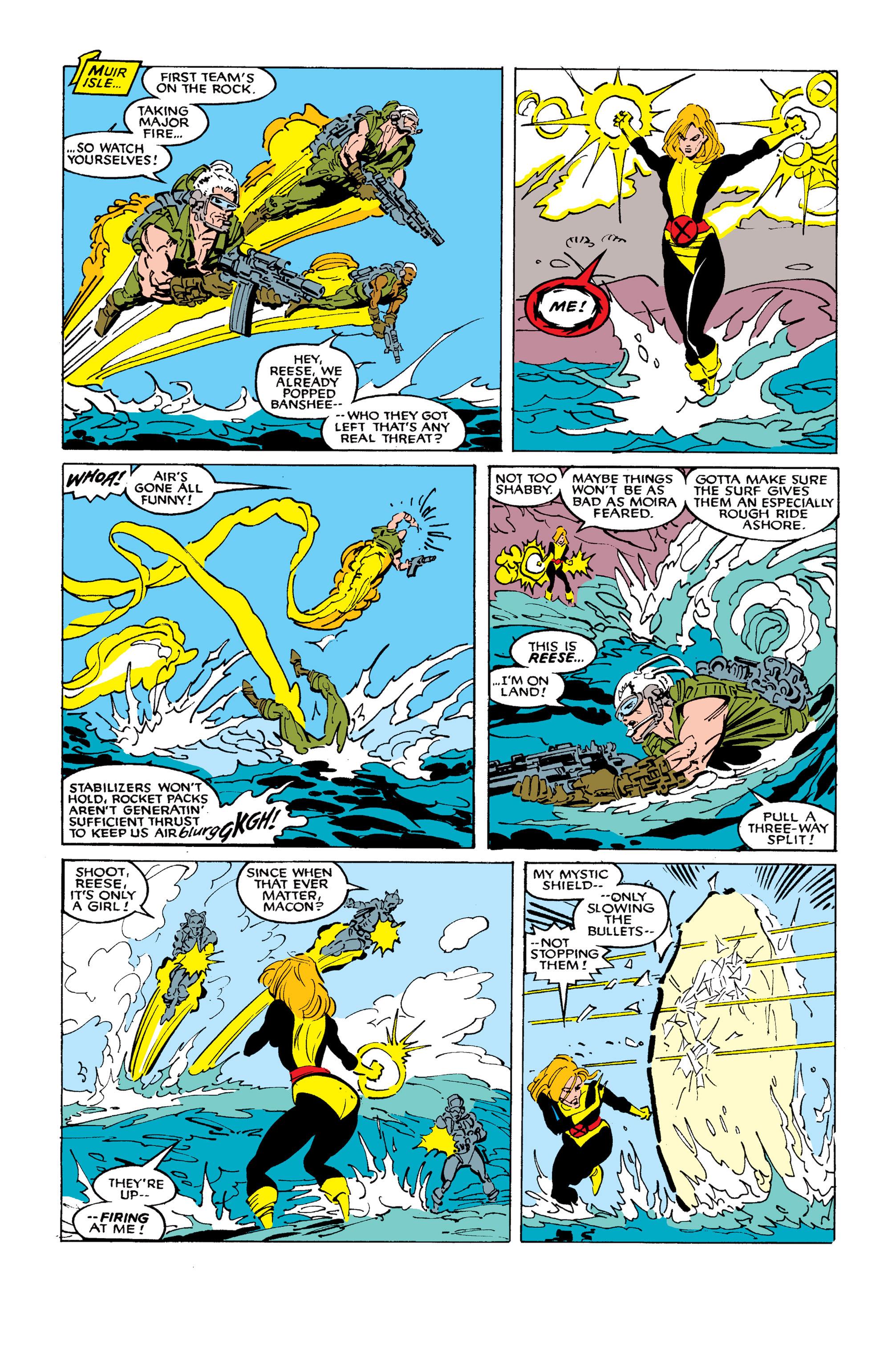 Read online Uncanny X-Men (1963) comic -  Issue #254 - 19