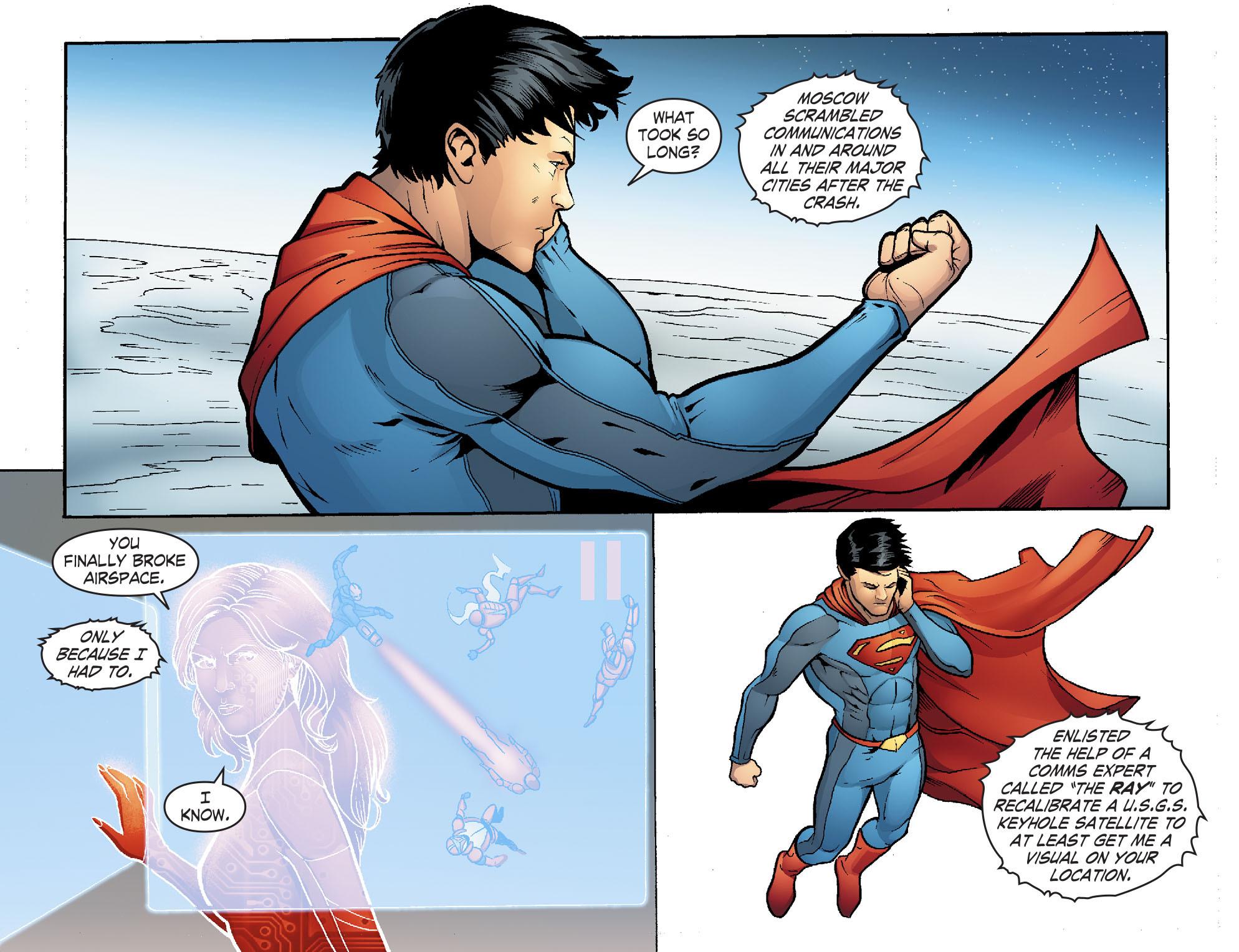 Read online Smallville: Alien comic -  Issue #7 - 8
