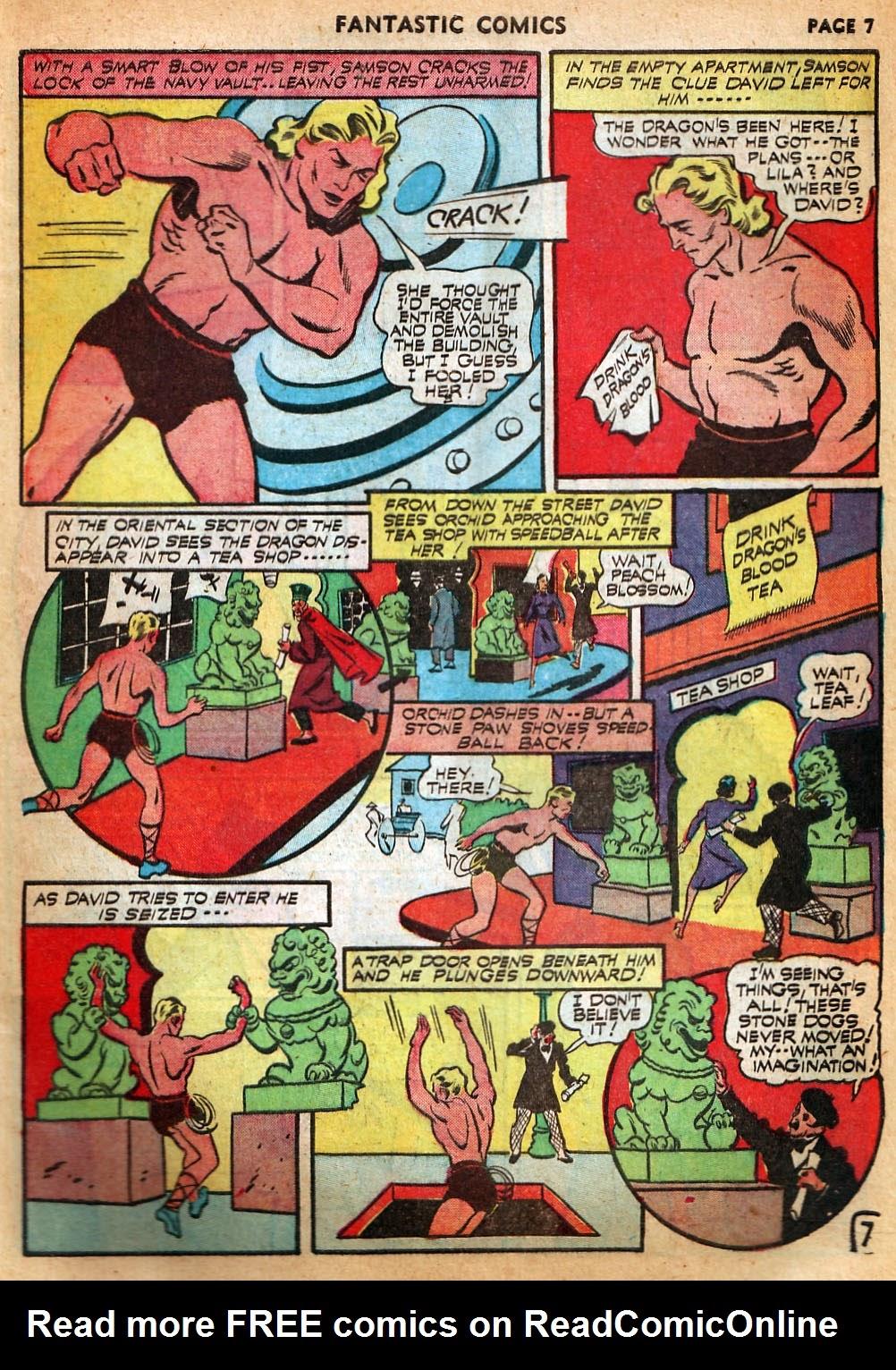 Read online Fantastic Comics comic -  Issue #22 - 9