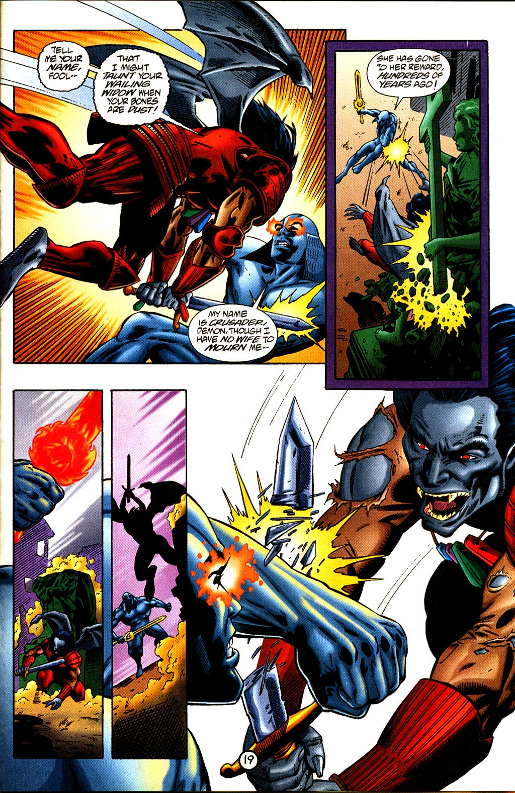 Read online Rune (1995) comic -  Issue #4 - 21