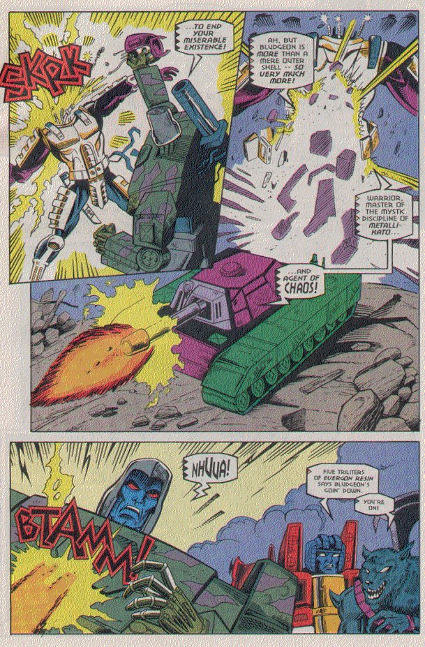 Read online Transformers: Generation 2 comic -  Issue #5 - 22