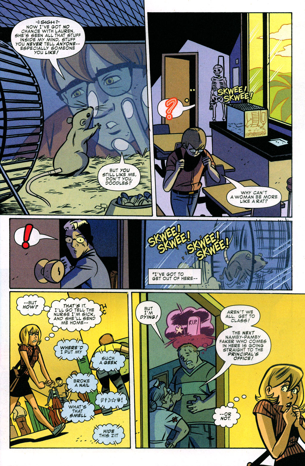 Read online Bad Girls comic -  Issue #3 - 6