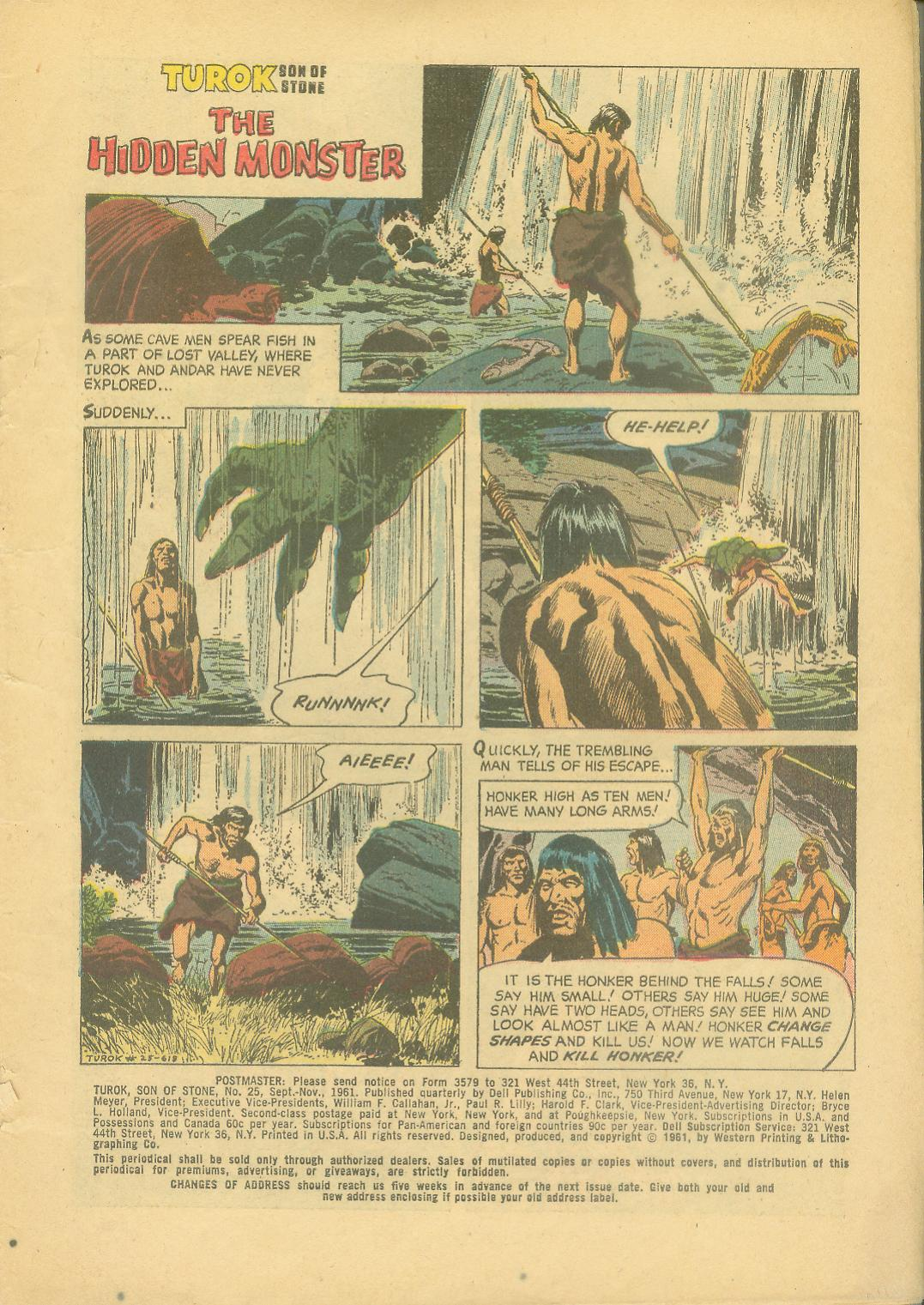 Read online Turok, Son of Stone comic -  Issue #25 - 3