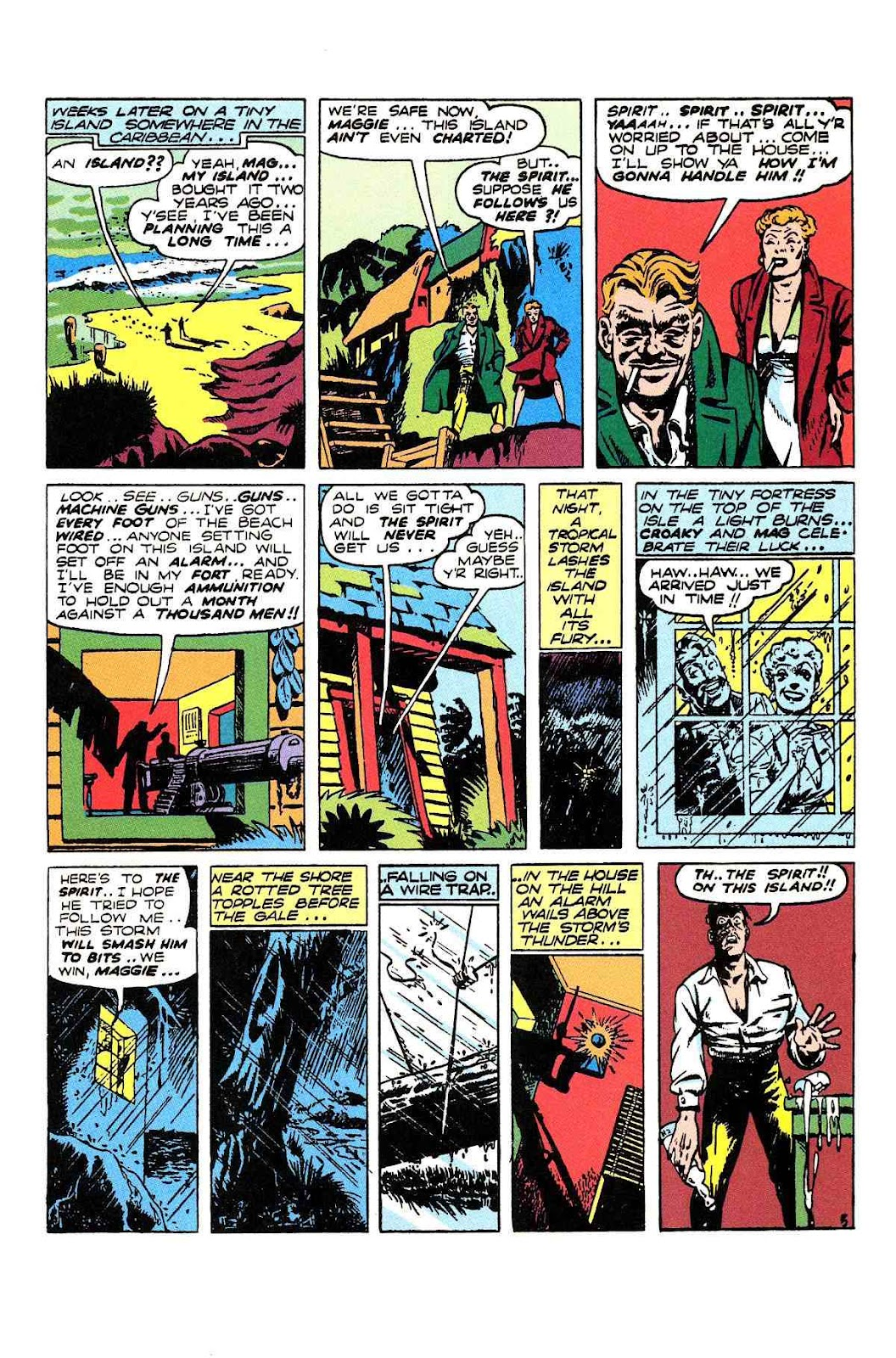 Read online Will Eisner's The Spirit Archives comic -  Issue # TPB 2 (Part 2) - 17