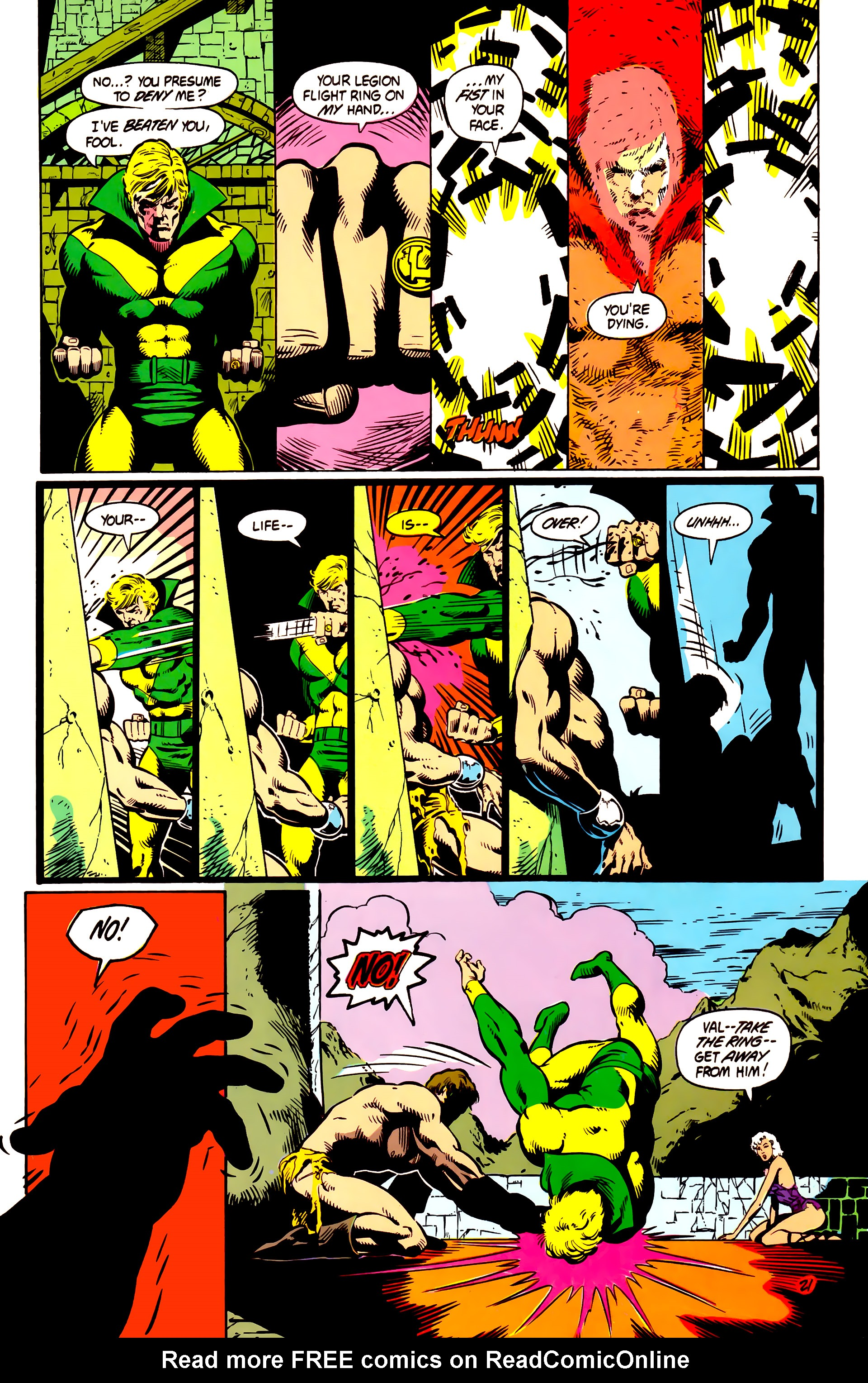 Legion of Super-Heroes (1984) 4 Page 22