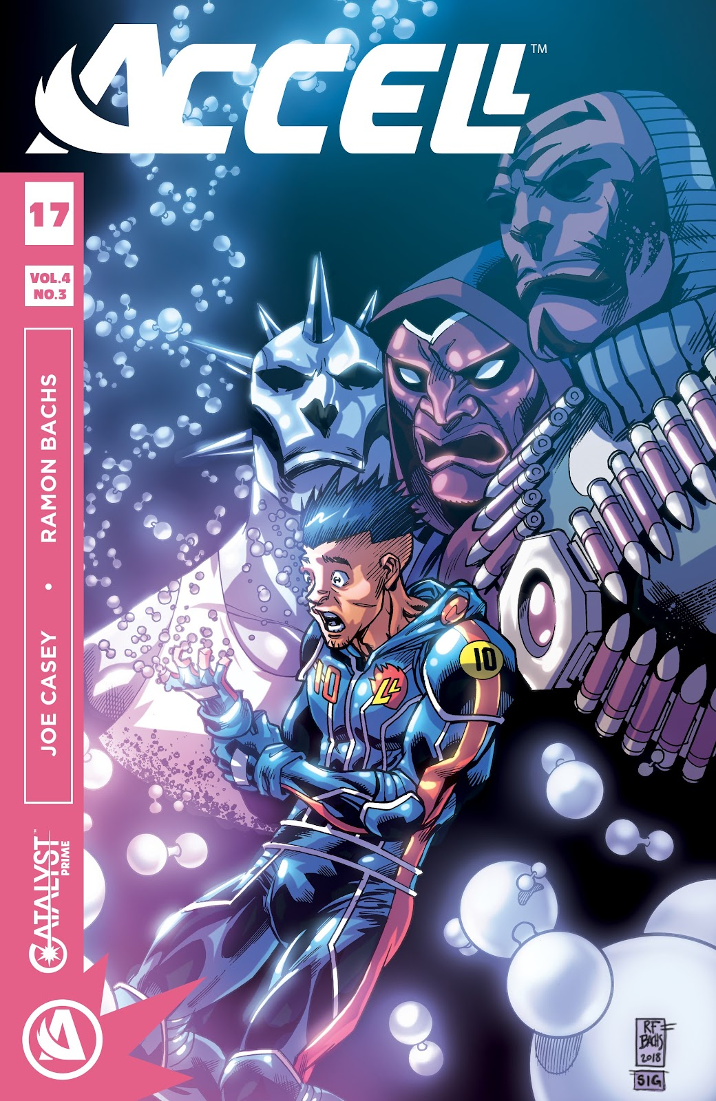 Read online Accell comic -  Issue #17 - 1