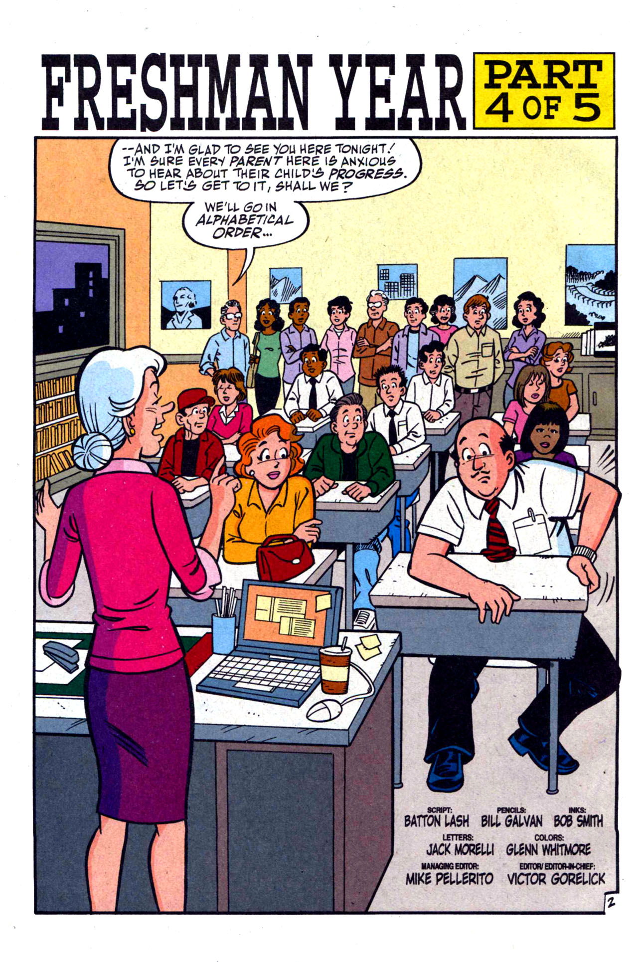 Read online Archie (1960) comic -  Issue #590 - 4