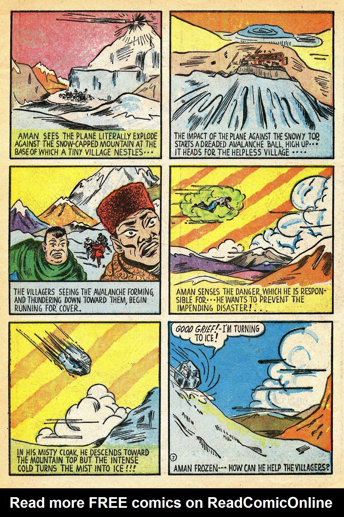 Read online Amazing Man Comics comic -  Issue #10 - 10