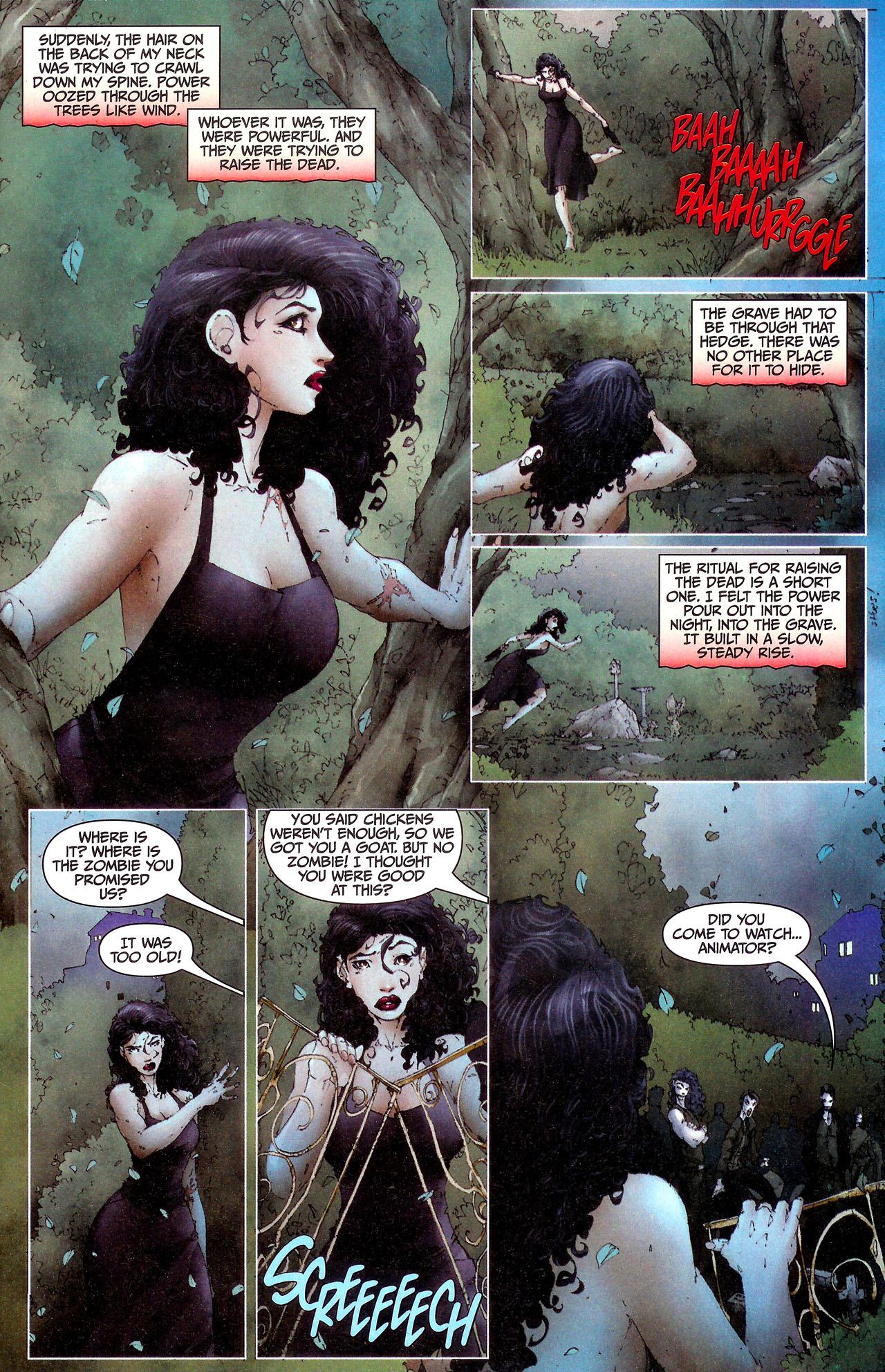 Read online Anita Blake, Vampire Hunter: Guilty Pleasures comic -  Issue #7 - 7