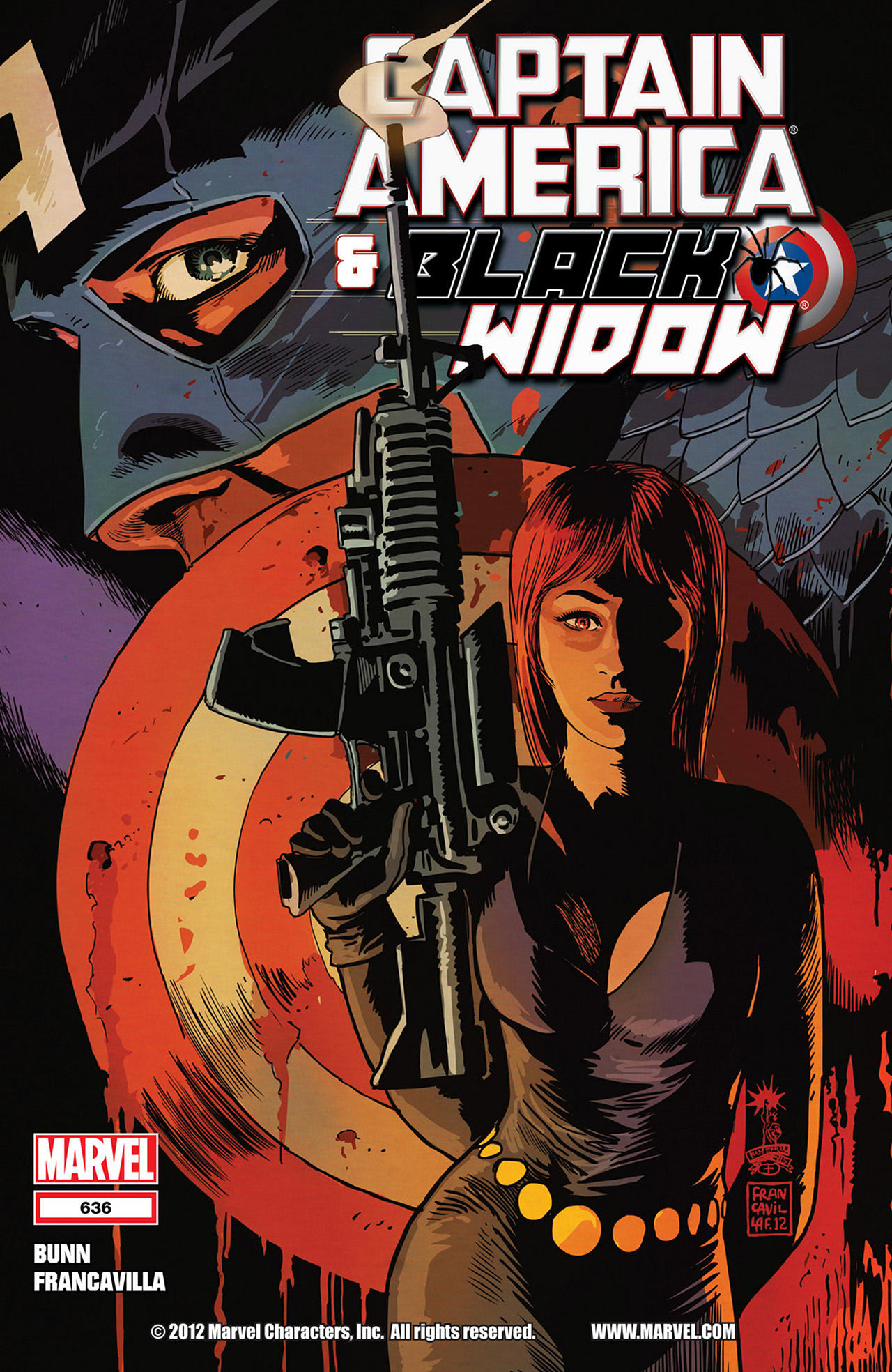 Read online Captain America And Black Widow comic -  Issue #636 - 1
