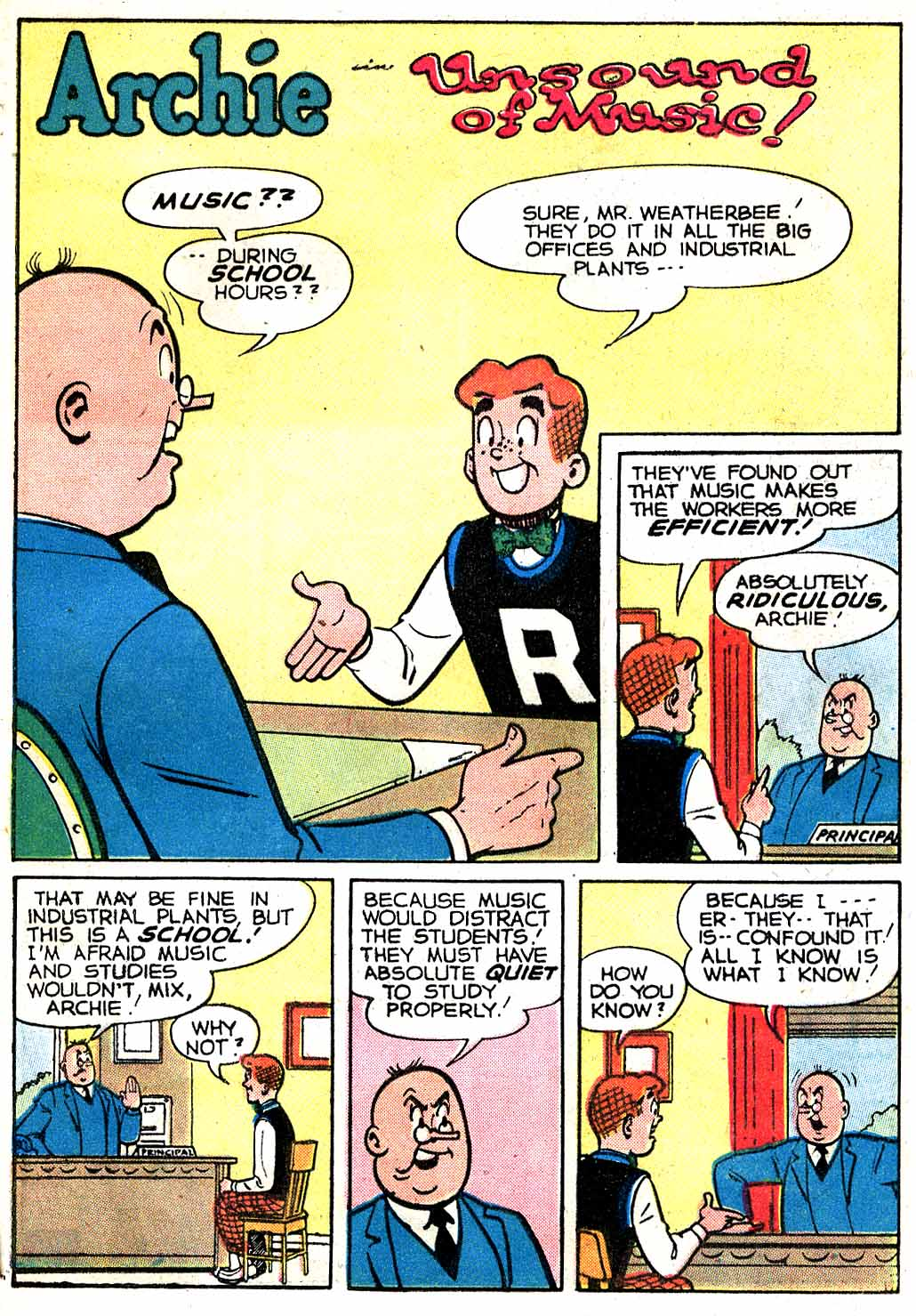 Read online Archie (1960) comic -  Issue #115 - 21