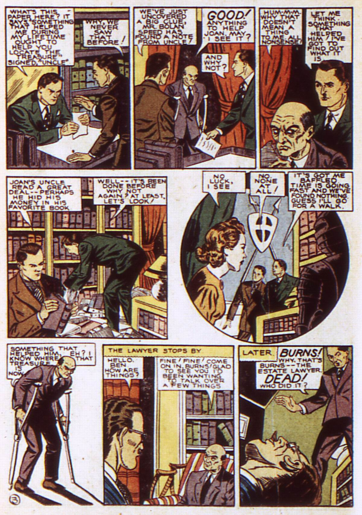 Read online Detective Comics (1937) comic -  Issue #52 - 40