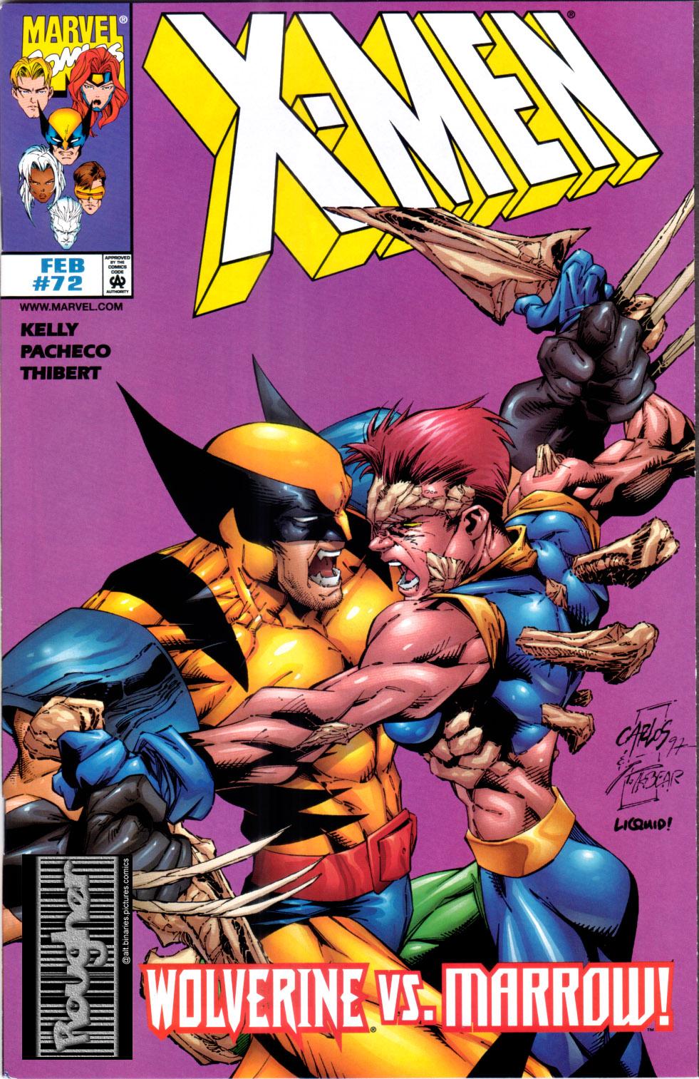 X-Men (1991) 72 Page 0