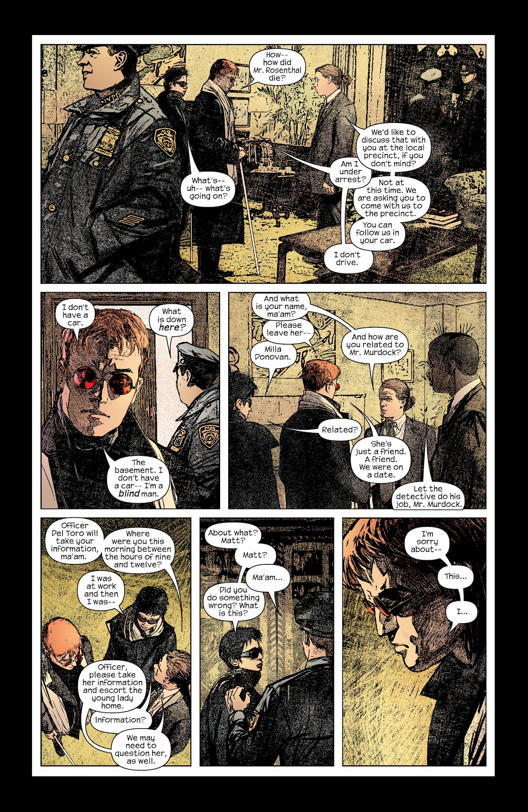 Read online Daredevil (1998) comic -  Issue # _Ultimate_Collection TPB 2 (Part 1) - 79