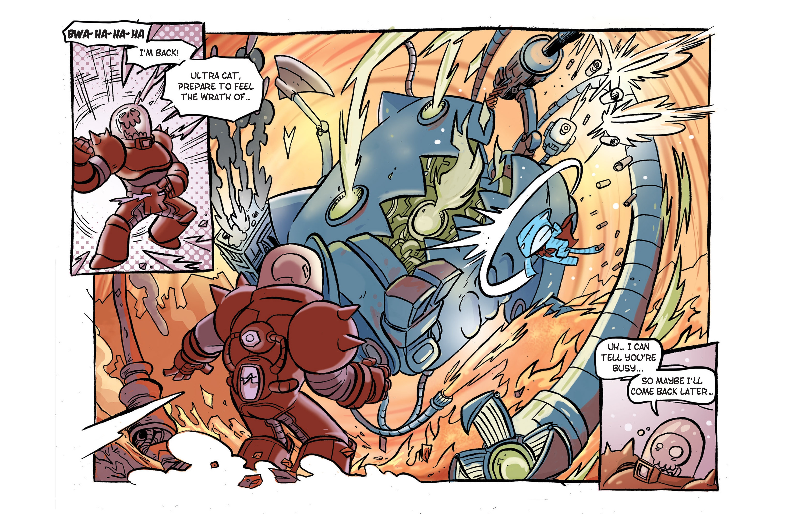 Read online Ultracat comic -  Issue #2 - 22