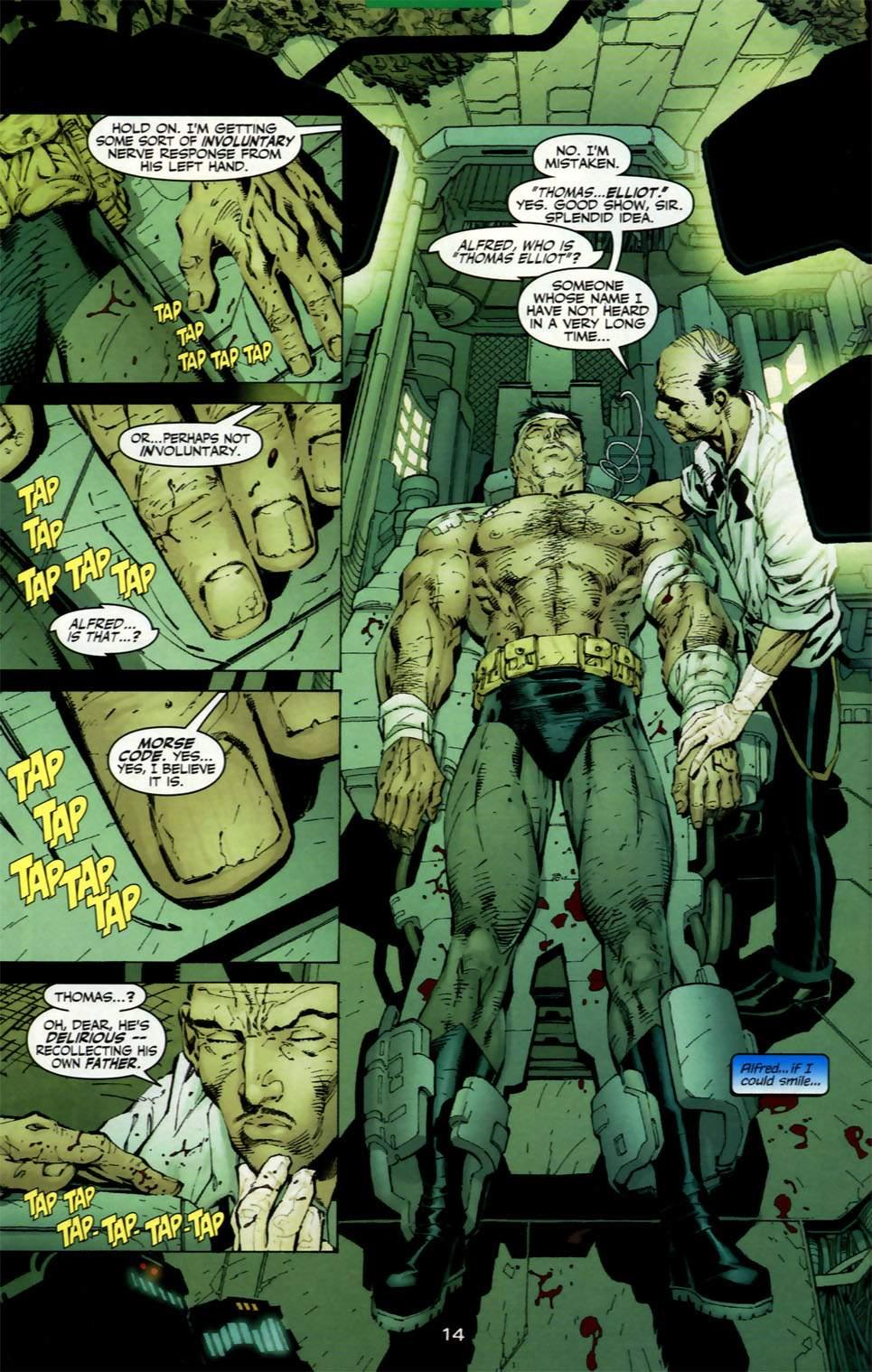 Read online Batman: Hush comic -  Issue #2 - 13