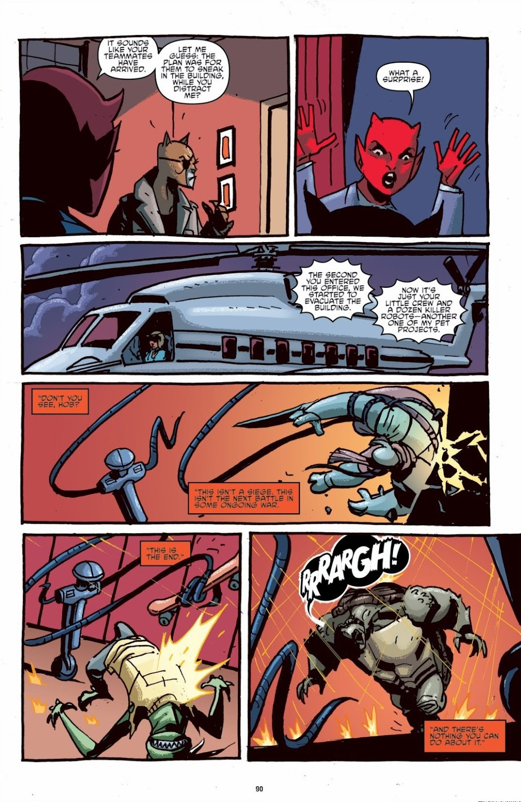 Read online Teenage Mutant Ninja Turtles: The IDW Collection comic -  Issue # TPB 6 (Part 1) - 89