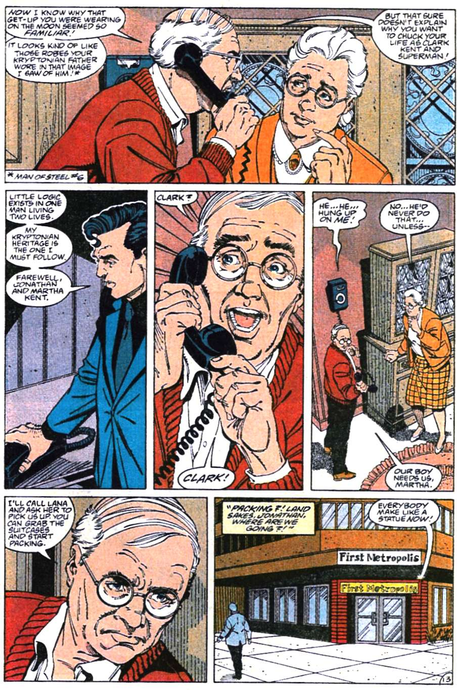 Read online Adventures of Superman (1987) comic -  Issue #465 - 14
