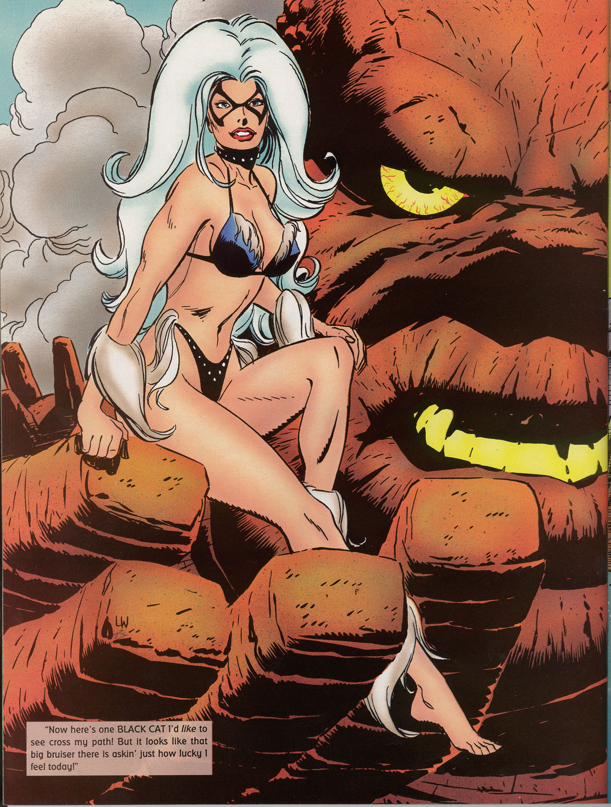 Read online Marvel Swimsuit Special comic -  Issue #2 - 42