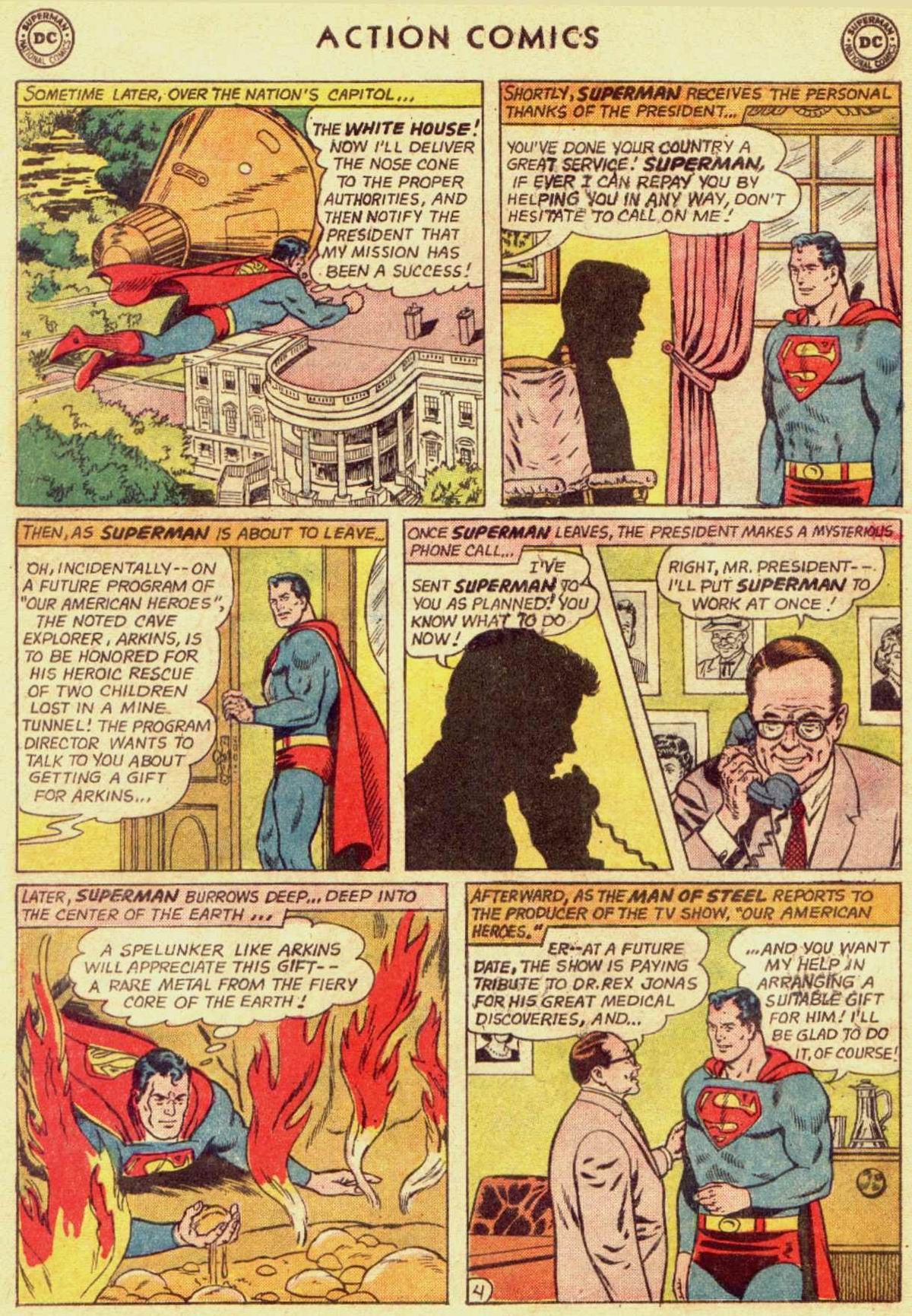 Read online Action Comics (1938) comic -  Issue #309 - 6