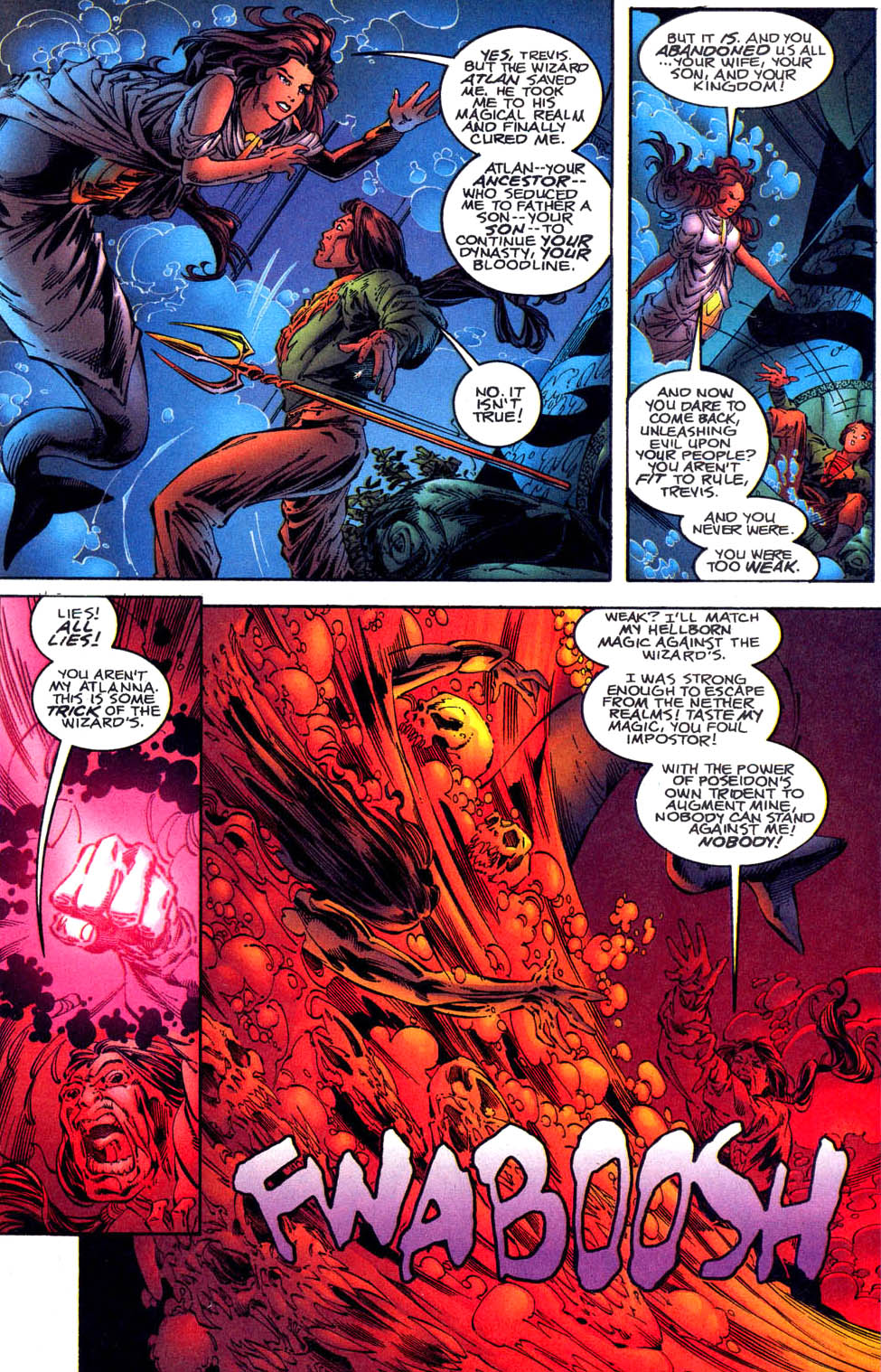 Read online Aquaman (1994) comic -  Issue #61 - 20