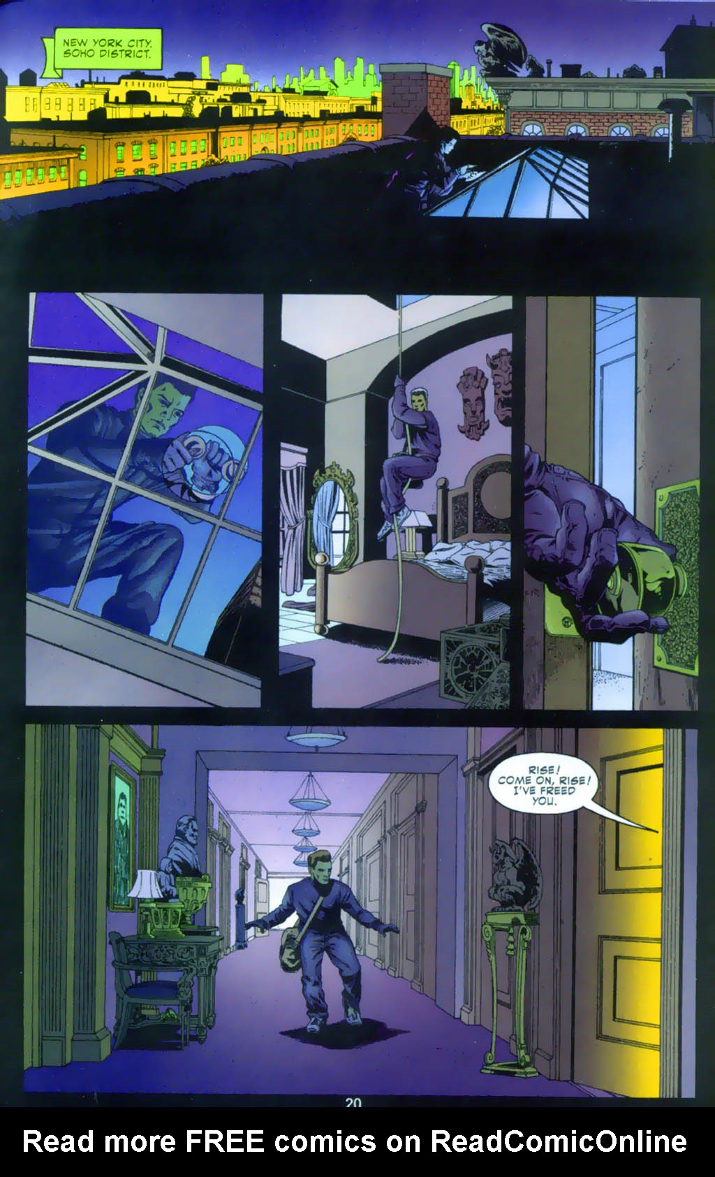 Read online Doctor Fate (2003) comic -  Issue #1 - 20