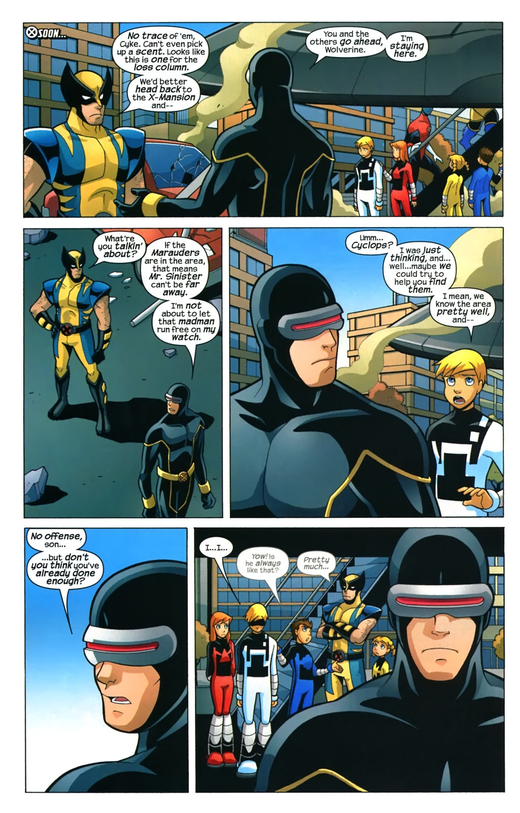Read online X-Men and Power Pack comic -  Issue #4 - 7