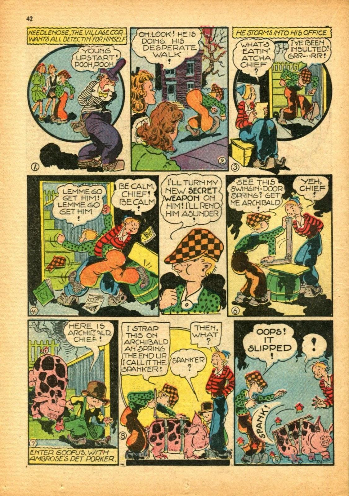 Read online Super-Magician Comics comic -  Issue #12 - 42