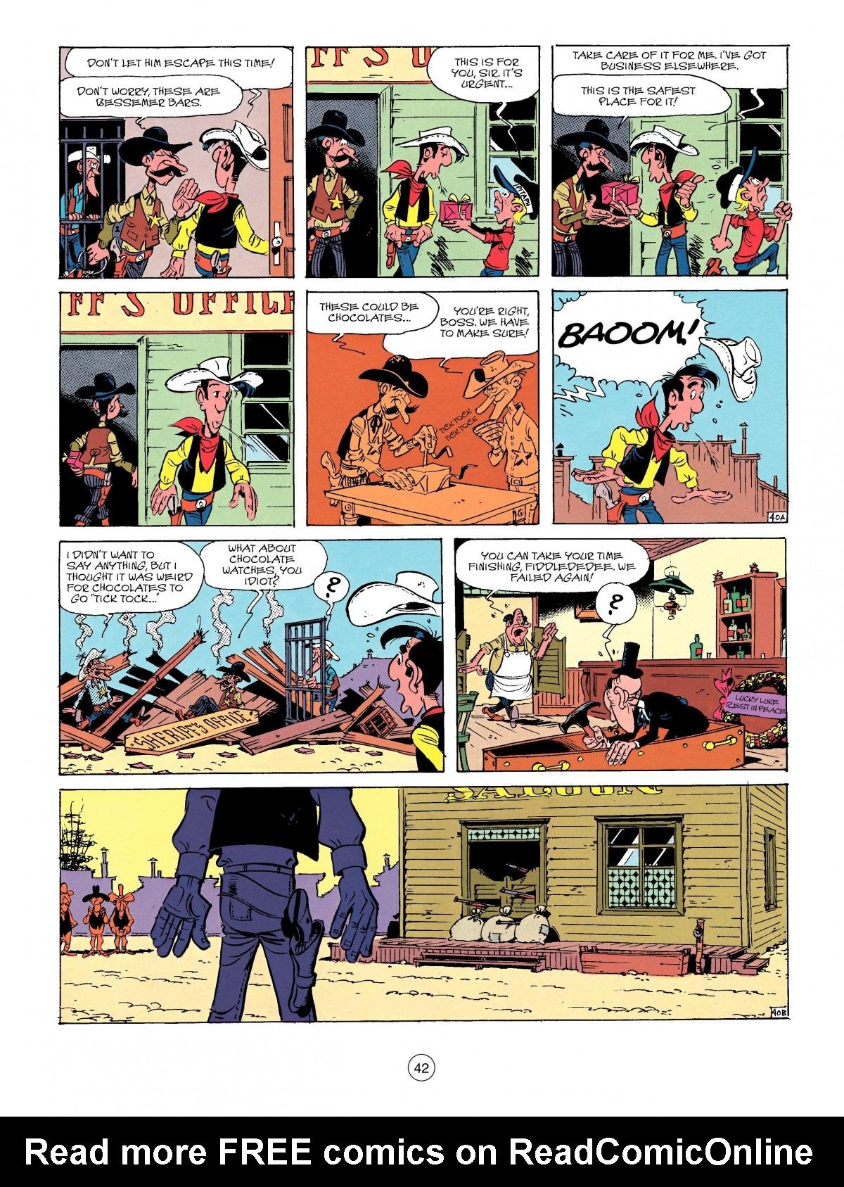Read online A Lucky Luke Adventure comic -  Issue #41 - 42